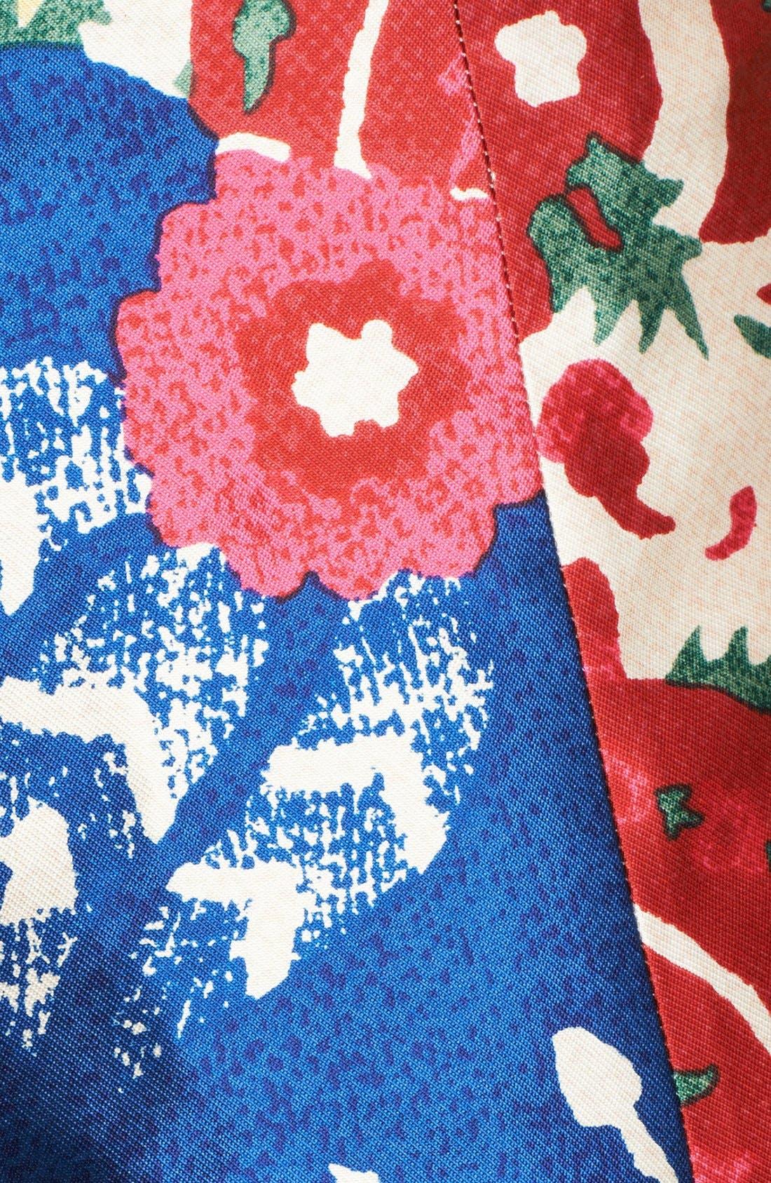 Alternate Image 3  - Oscar de la Renta Floral Print Full Skirt