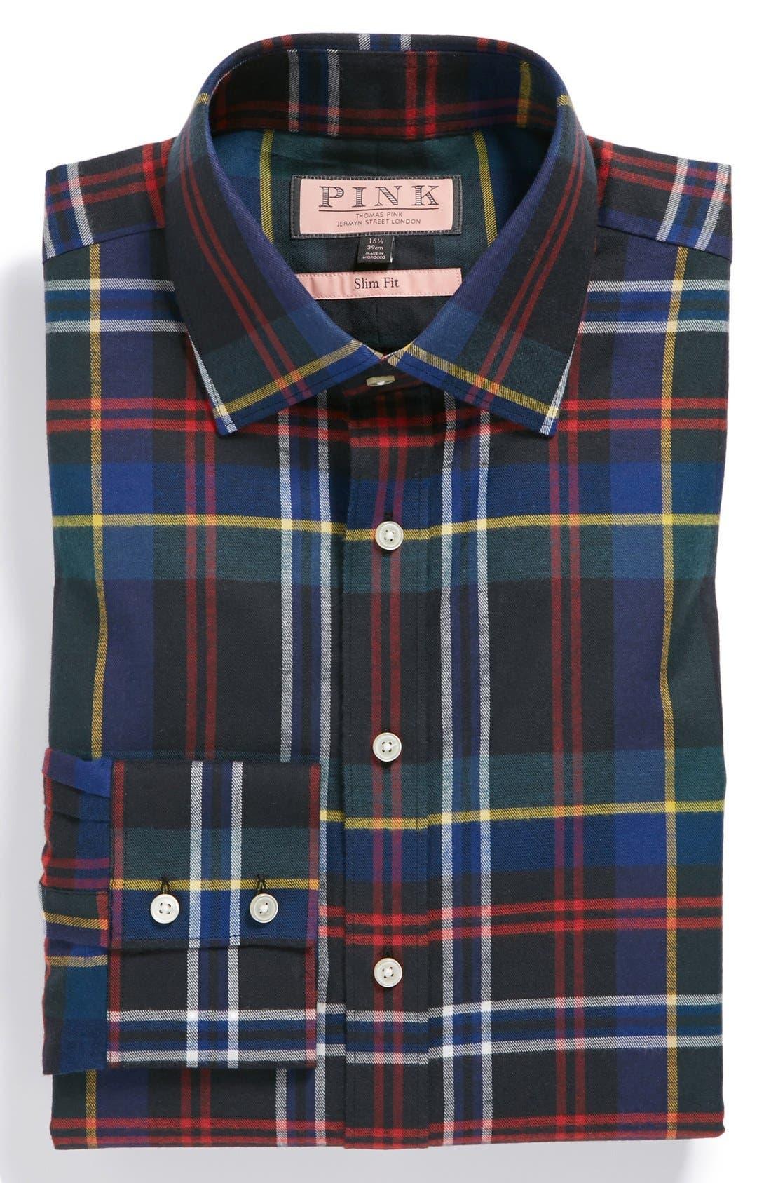 Alternate Image 1 Selected - Thomas Pink 'Promenade' Slim Fit Dress Shirt
