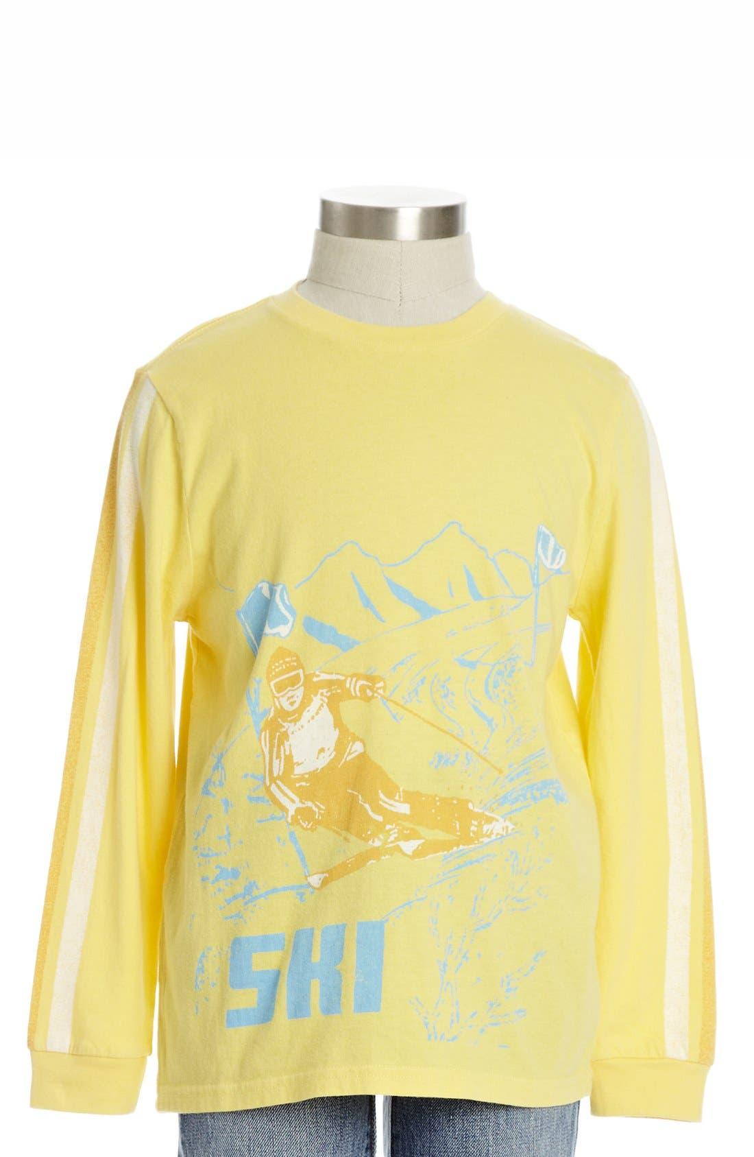 Main Image - Peek 'Carve Your Niche' Long Sleeve T-Shirt (Toddler Boys, Little Boys & Big Boys)