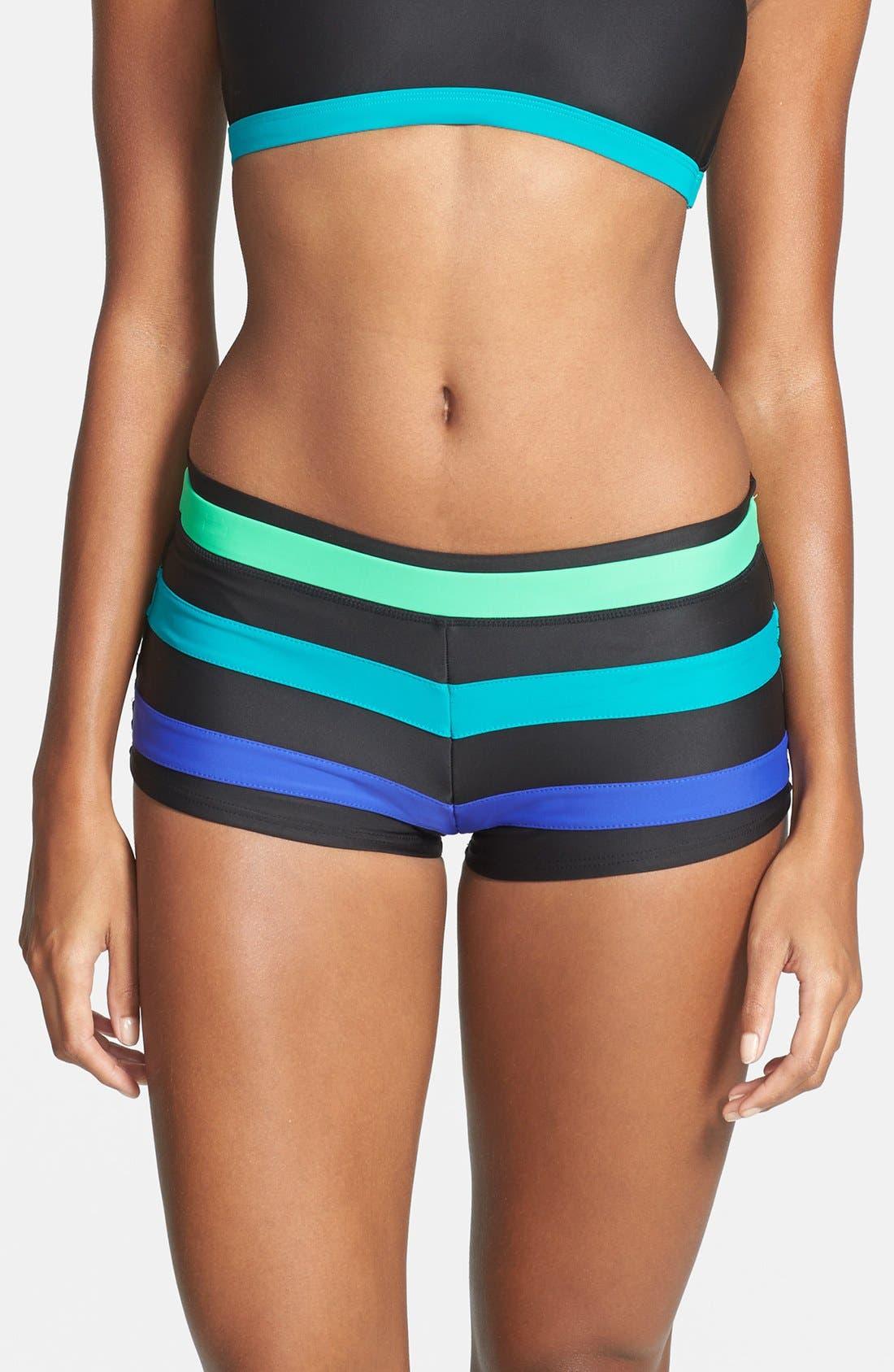 Alternate Image 1 Selected - prAna 'Tavarua' Swim Shorts