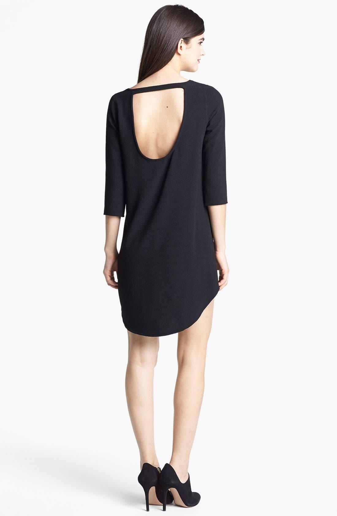 Alternate Image 2  - BB Dakota 'Noland' Textured Crepe Dress