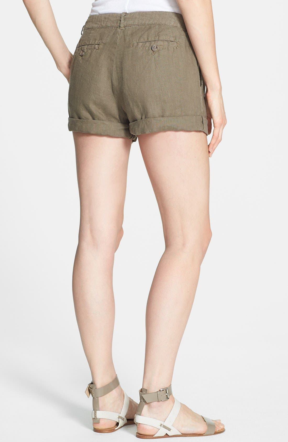Alternate Image 2  - Joie 'Farrow' Linen Shorts