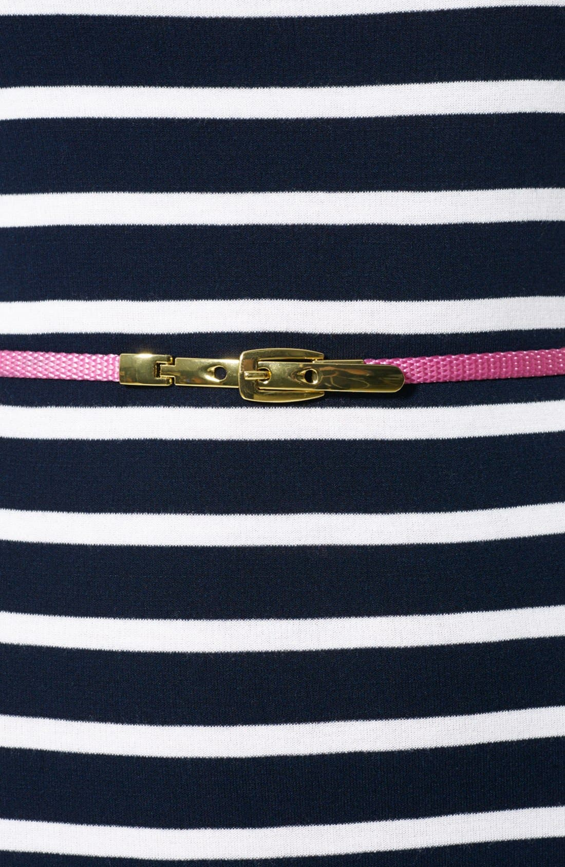 Alternate Image 3  - Lauren Ralph Lauren Stripe Knit Dress (Petite)