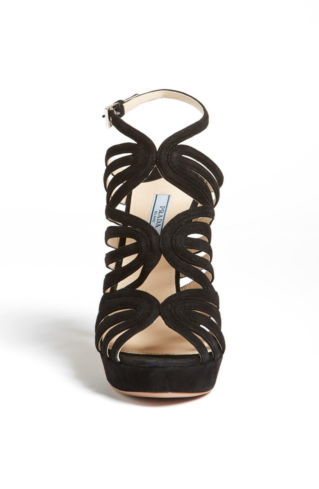 Alternate Image 3  - Prada Caged Platform Sandal