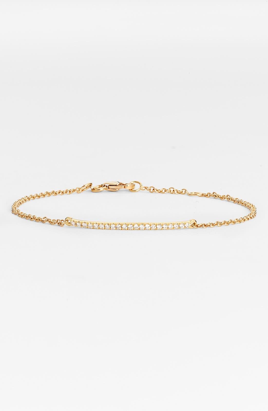 Alternate Image 1 Selected - Bony Levy Diamond Bar Bracelet (Nordstrom Exclusive)