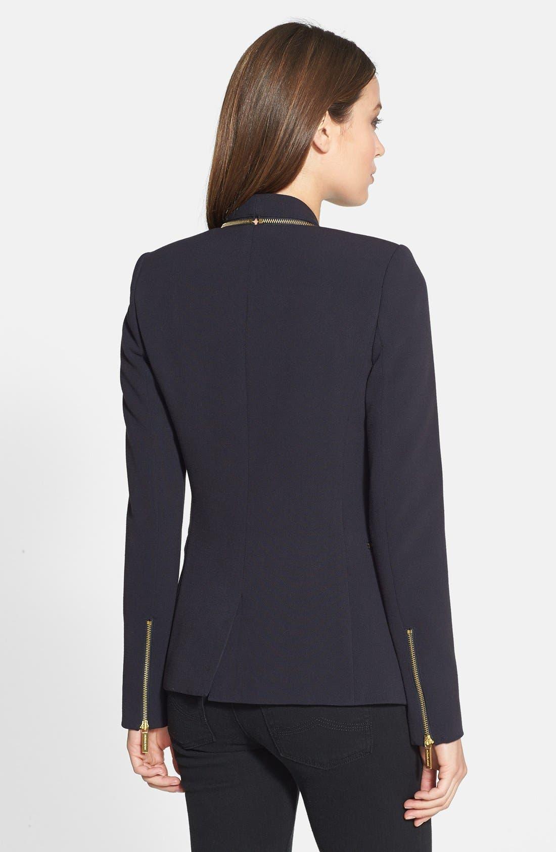 Alternate Image 2  - MICHAEL Michael Kors Zip Detail Jacket