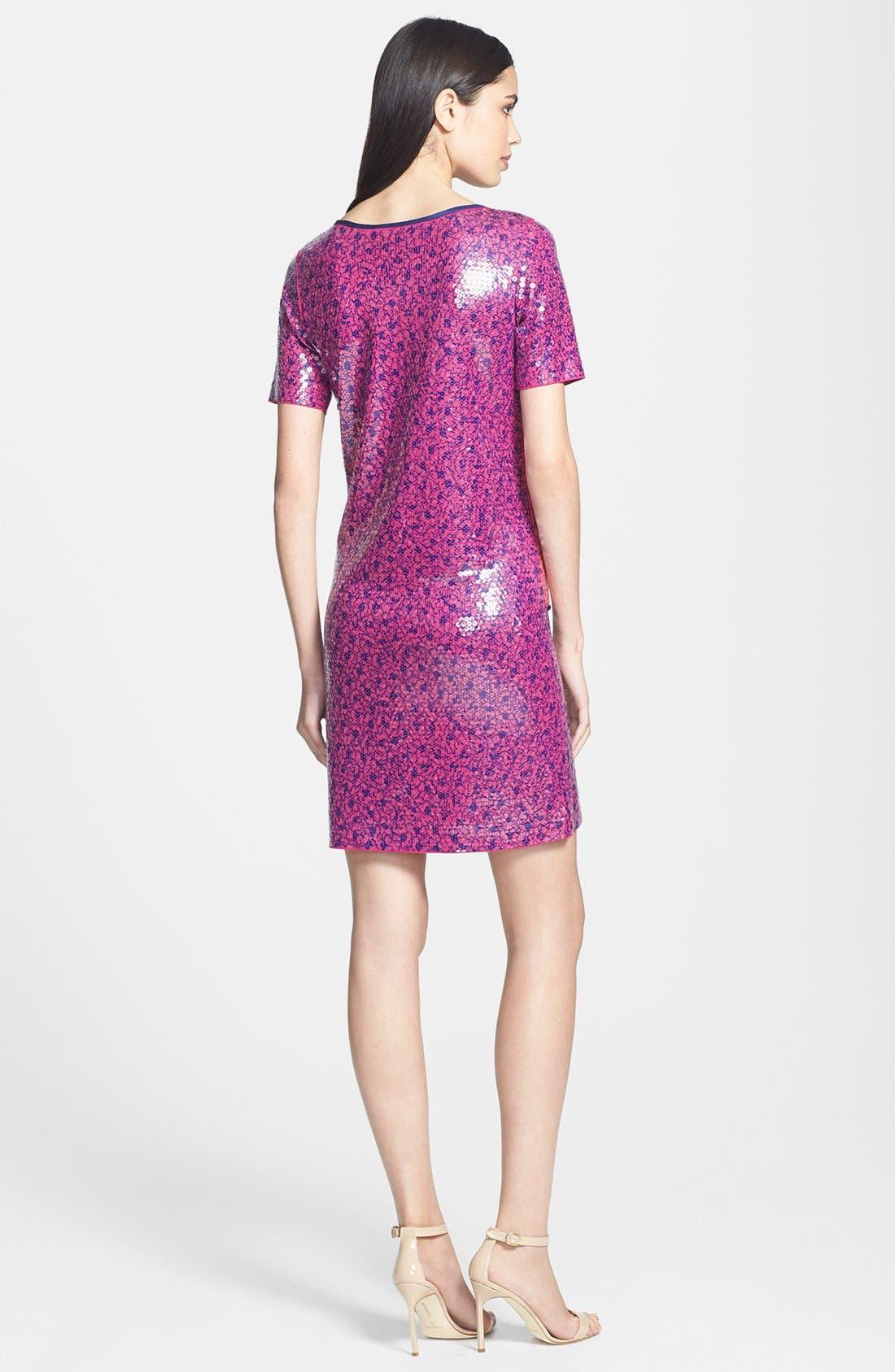 Alternate Image 2  - MARC BY MARC JACOBS 'Viola' Sequin Jersey Shift Dress