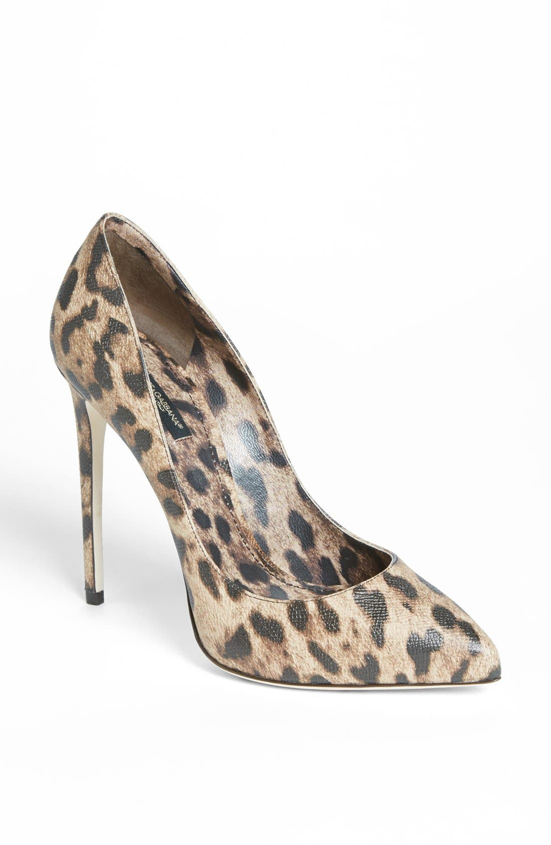Alternate Image 1 Selected - Dolce&Gabbana Pointed Toe Pump