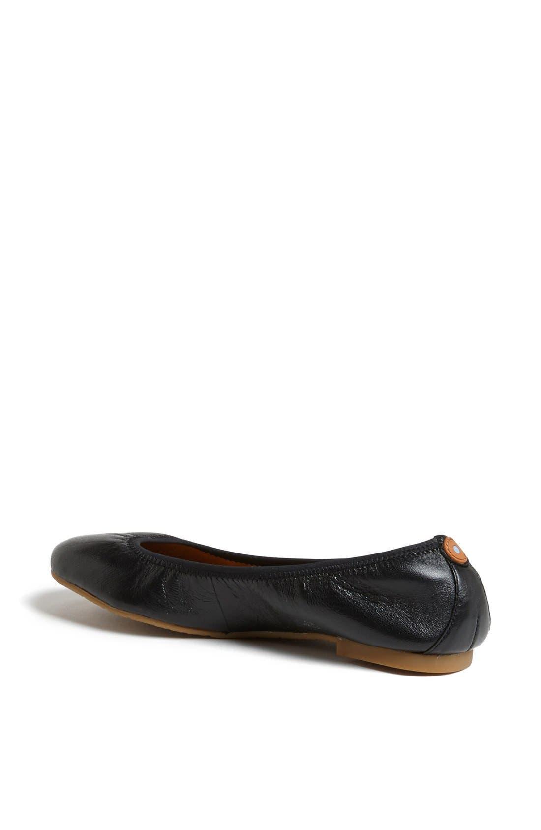Alternate Image 2  - Juil 'The Flat' Earthing Leather Ballet Flat