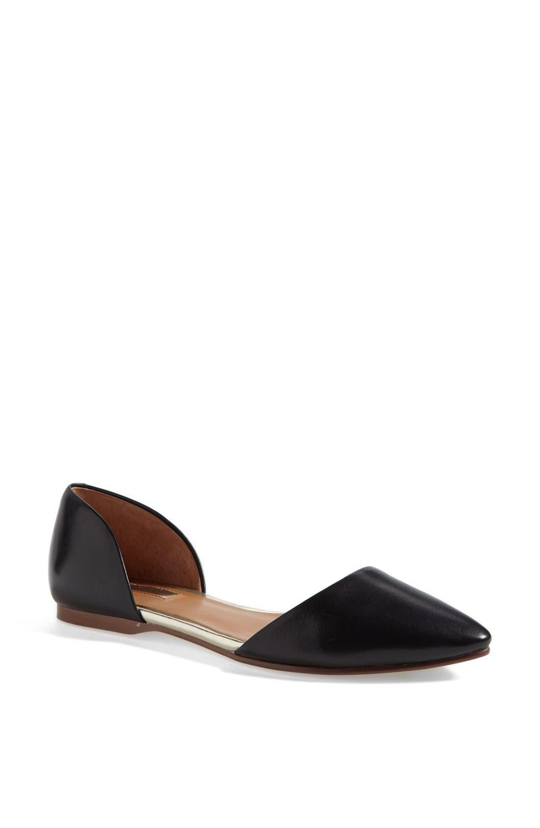 Main Image - Halogen® 'Kayla' Pointy Toe Flat