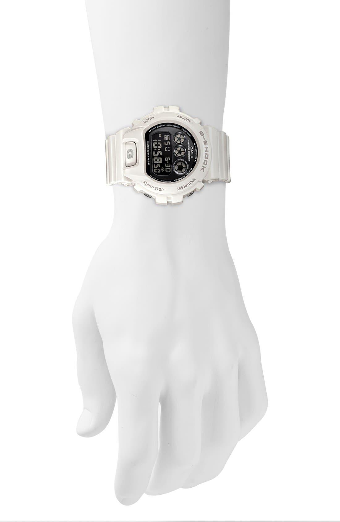 Alternate Image 3  - G-Shock 'Mirror Metallic' Digital Watch, 50mm x 45mm