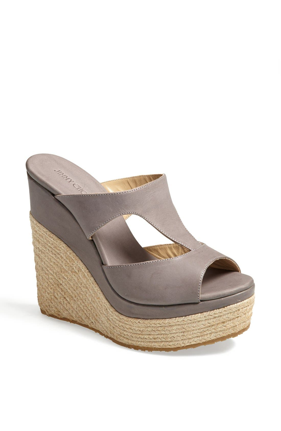 Alternate Image 1 Selected - Jimmy Choo 'Pledge' Espadrille Sandal
