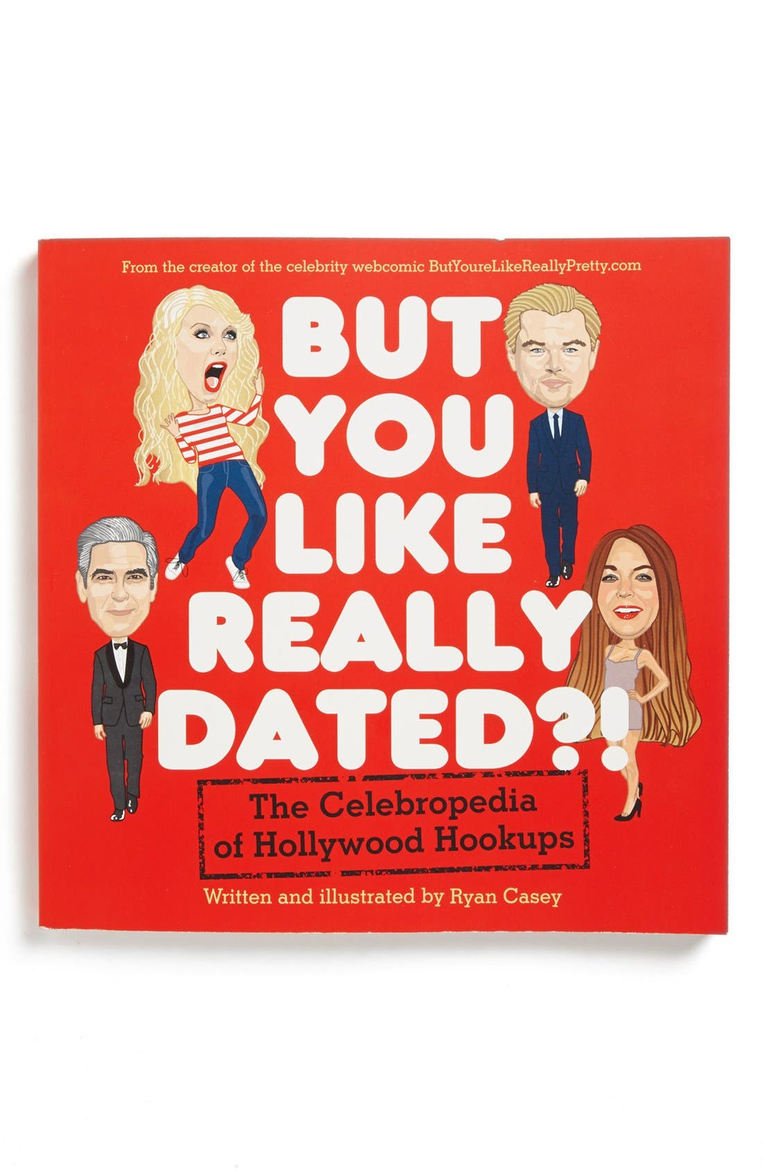 Alternate Image 1 Selected - 'But You Like Really Dated?! The Celebropedia of Hollywood Hookups' Book