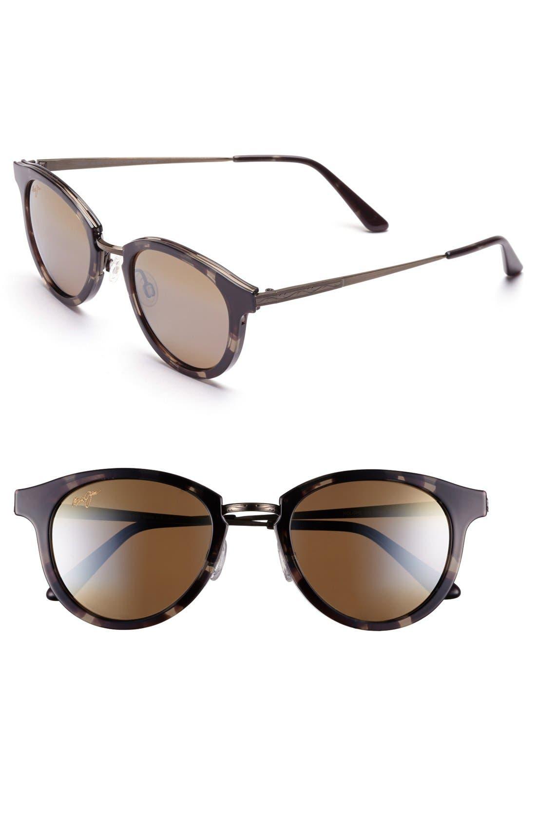 Main Image - Maui Jim 'Kolohe' 50mm Polarized Sunglasses