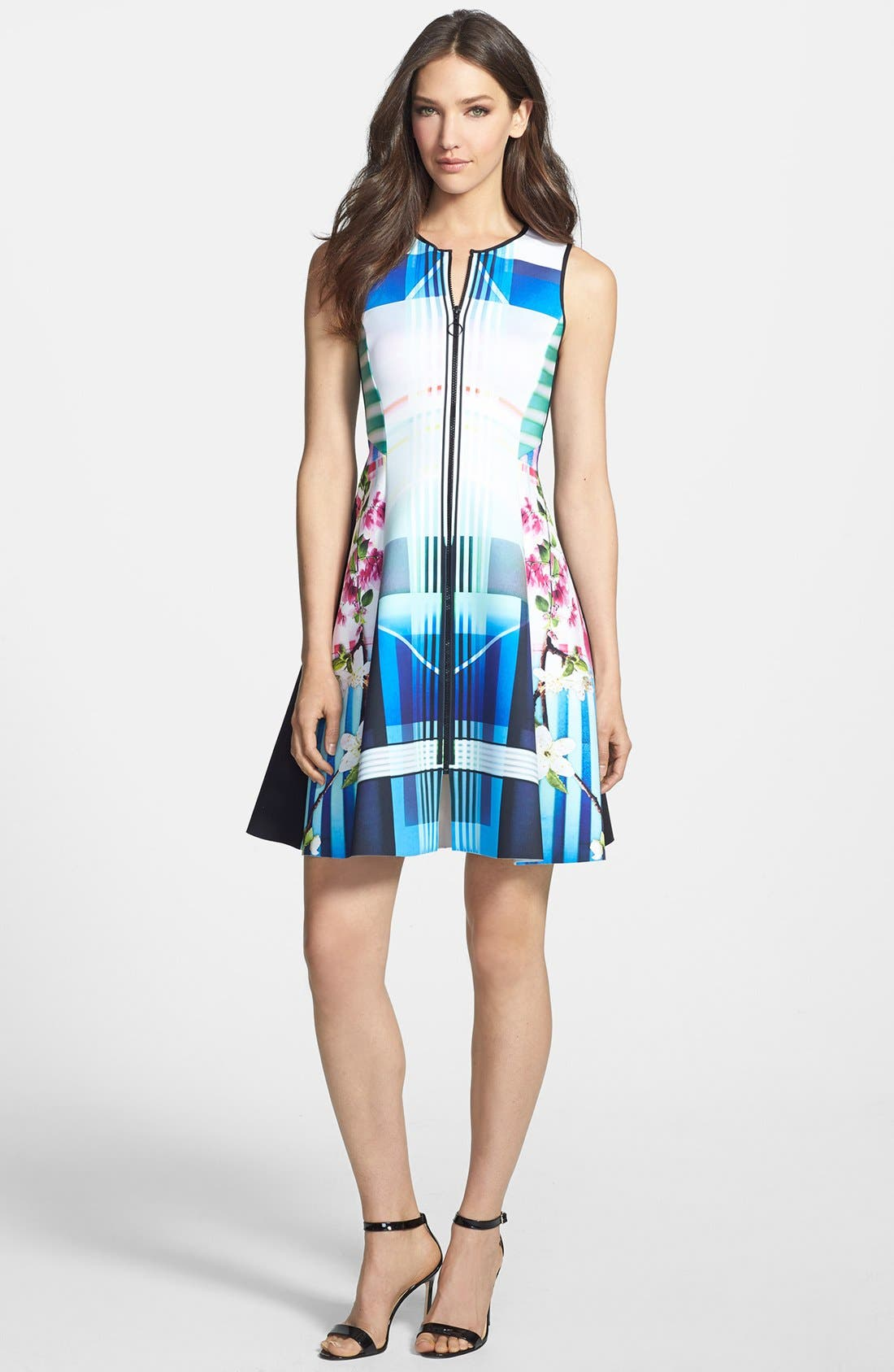 Alternate Image 1 Selected - Clover Canyon 'Hollywood Bowl' Fit & Flare Dress