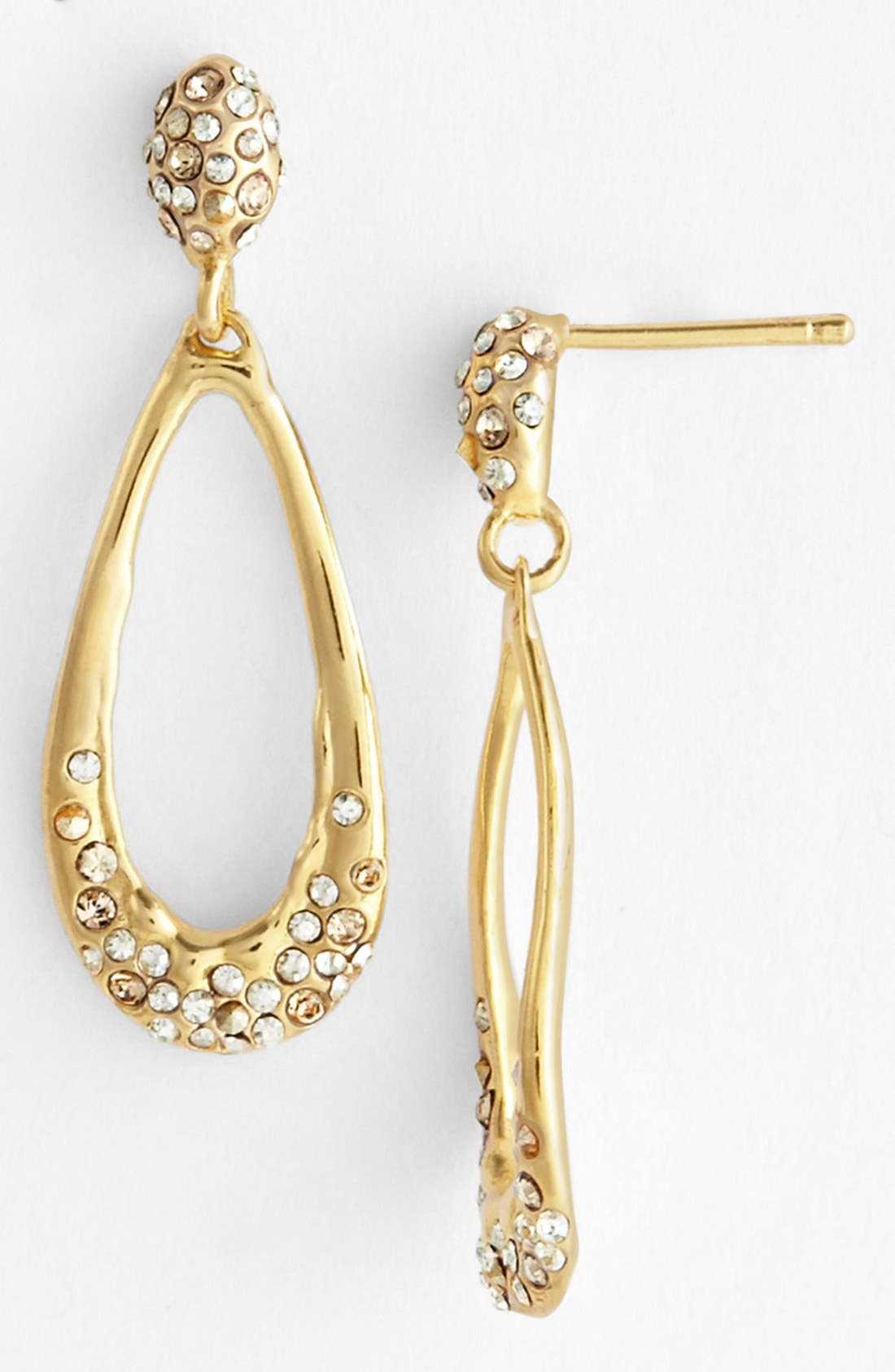 Alternate Image 1 Selected - Alexis Bittar 'Miss Havisham' Crystal Encrusted Teardrop Earrings