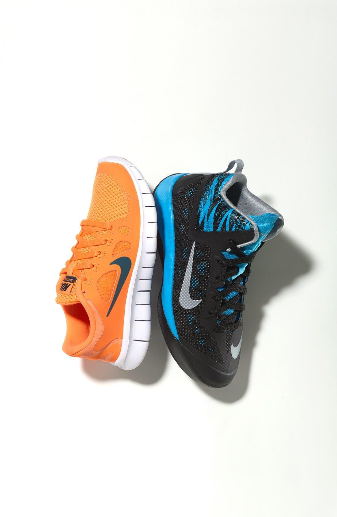 Alternate Image 5  - Nike 'Hyperfuse 2013' Basketball Shoe (Big Kid)