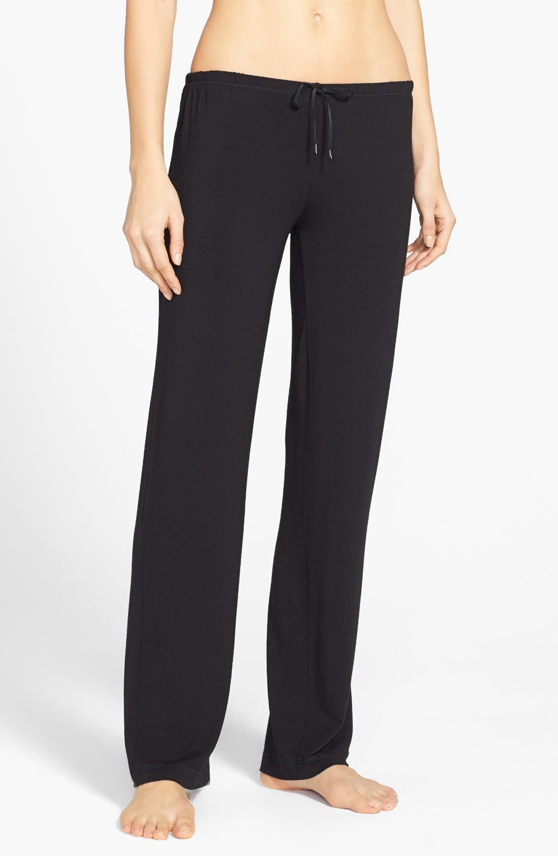 'City Essentials' Pants,                             Main thumbnail 1, color,                             Black