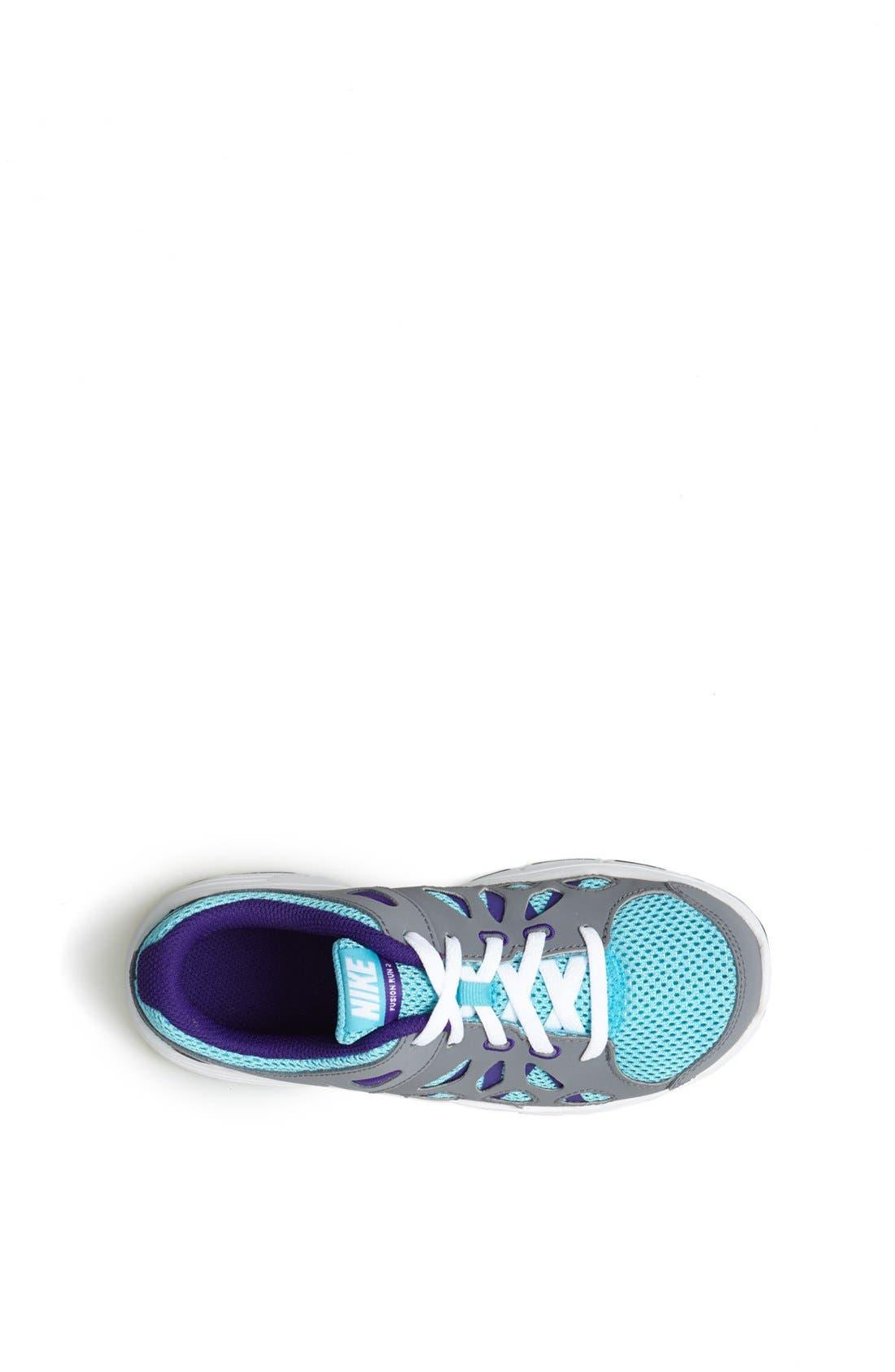 Alternate Image 3  - Nike 'Fusion Run' Athletic Shoe (Toddler & Little Kid)