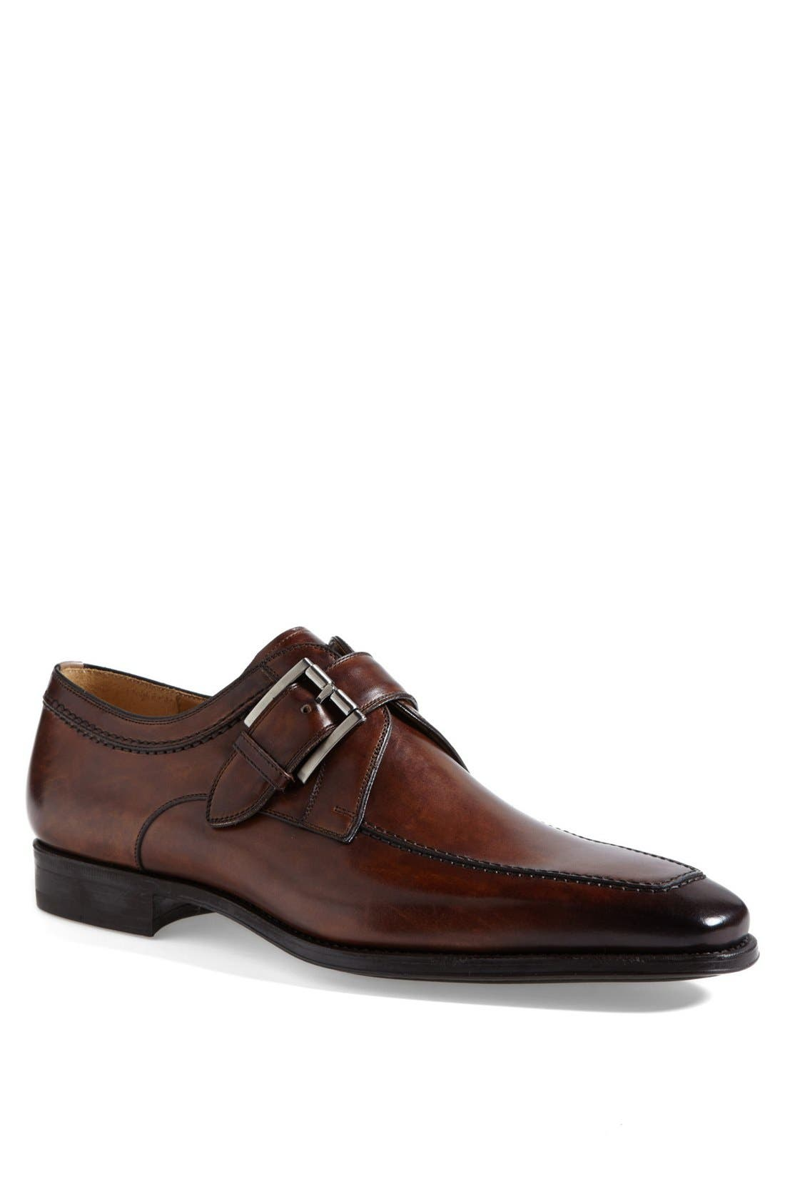 Alternate Image 1 Selected - Magnanni Mauricio Monk Strap Slip-On (Men)