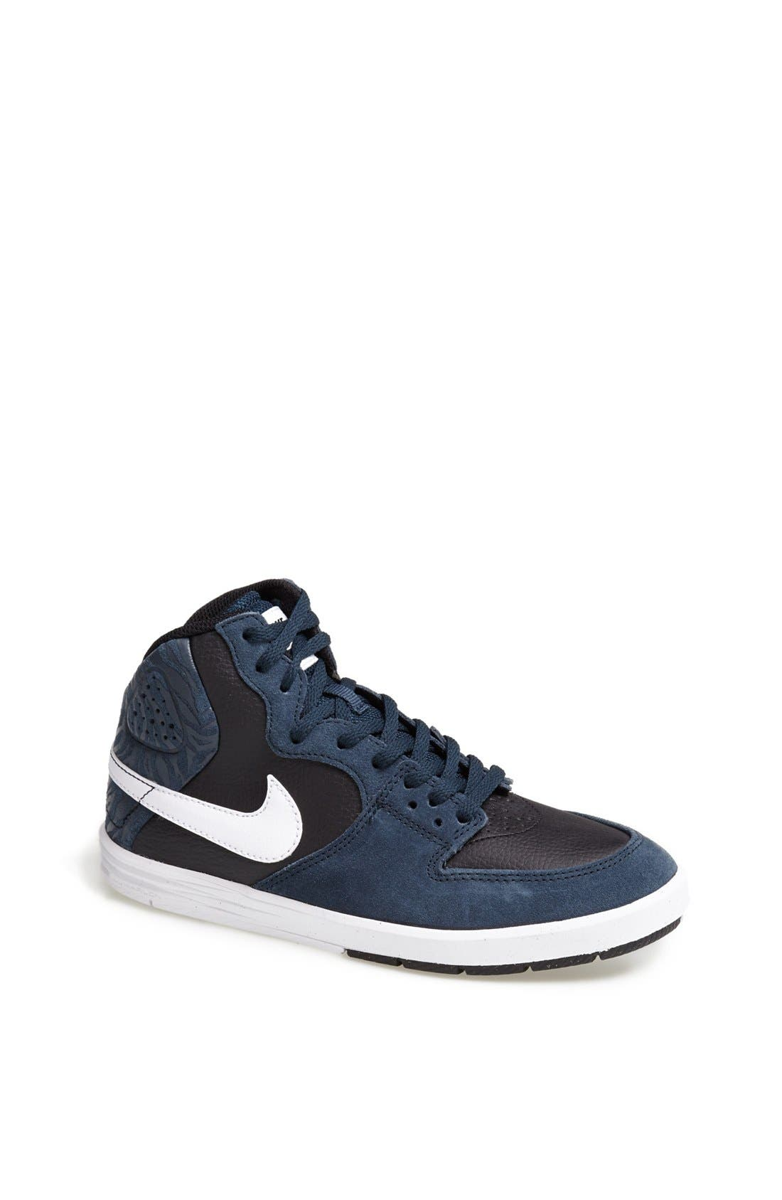Alternate Image 1 Selected - Nike 'Paul Rodriguez 7' High Top Sneaker (Big Kid)