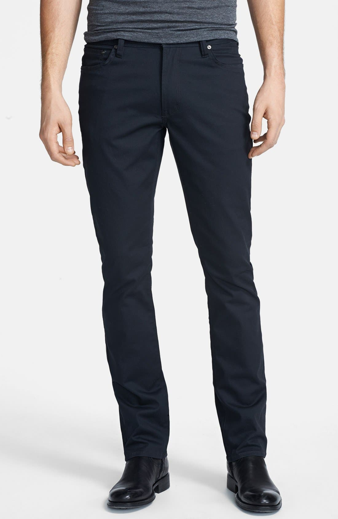 Main Image - John Varvatos Star USA 'Bowery' Slim Straight Leg Pants