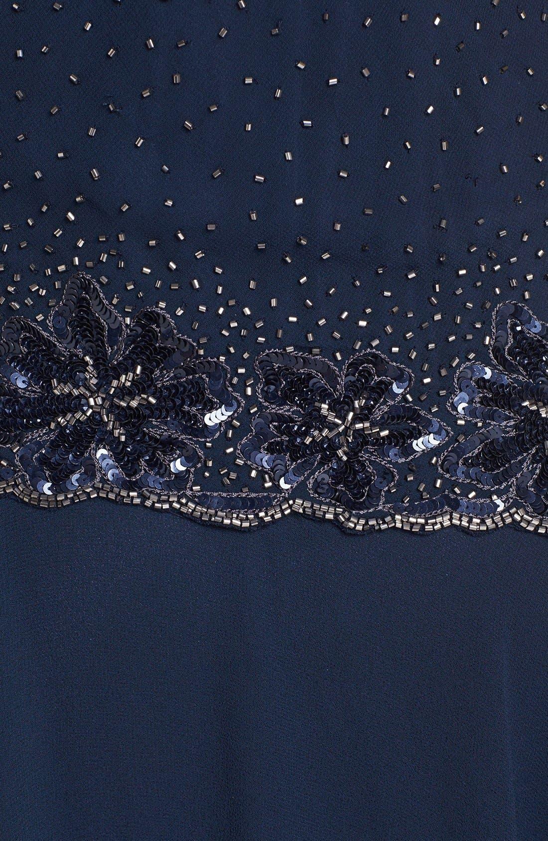 Alternate Image 3  - J Kara Embellished Chiffon Dress & Bolero