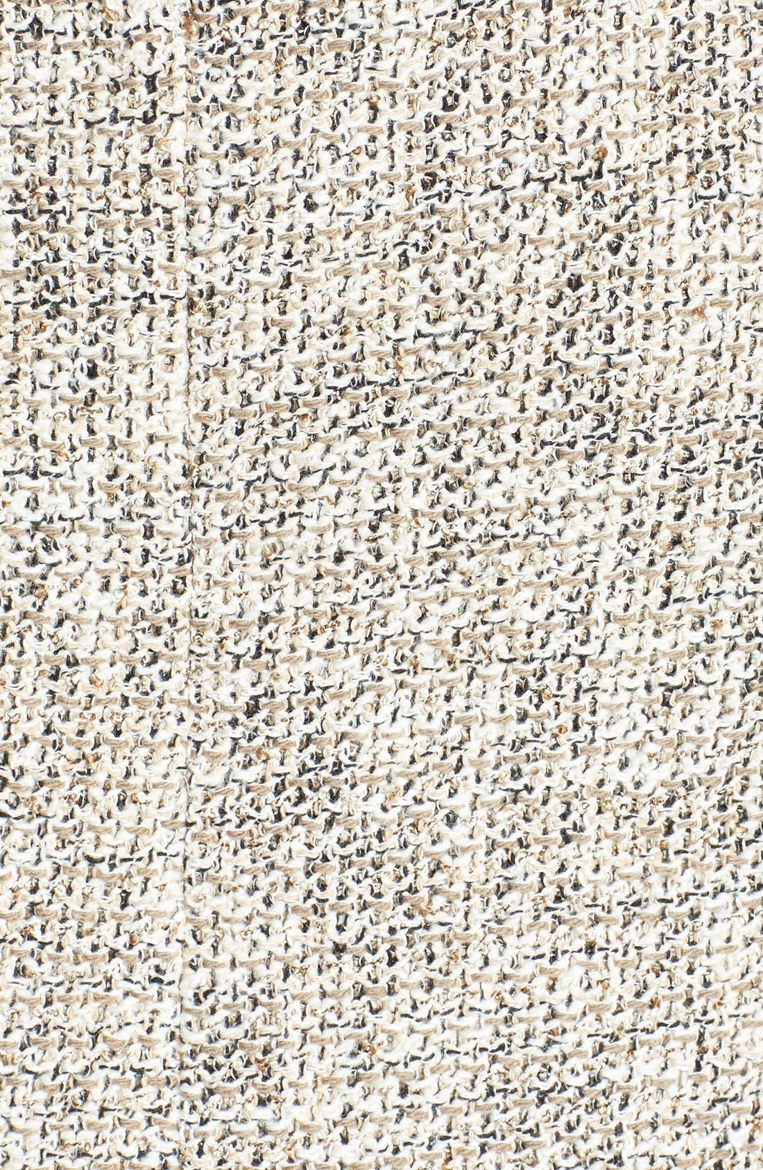 Alternate Image 3  - Vince Camuto Zip Pocket Tweed Miniskirt