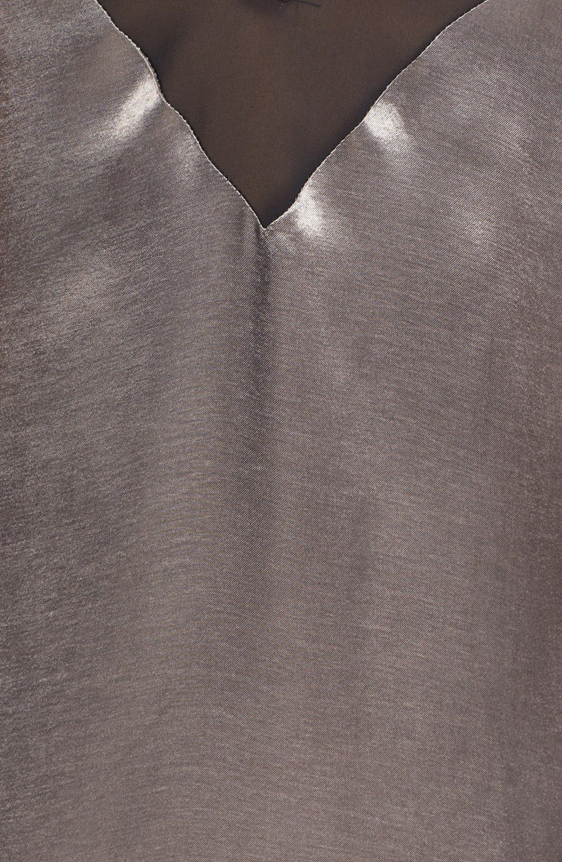 Alternate Image 3  - Topshop Chiffon Trim Slipdress