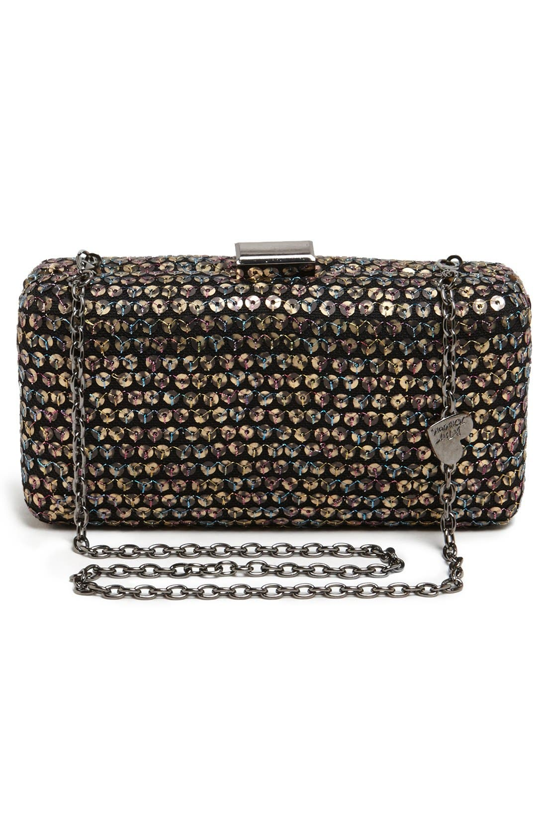 Alternate Image 4  - Betsey Johnson Sequin Clutch