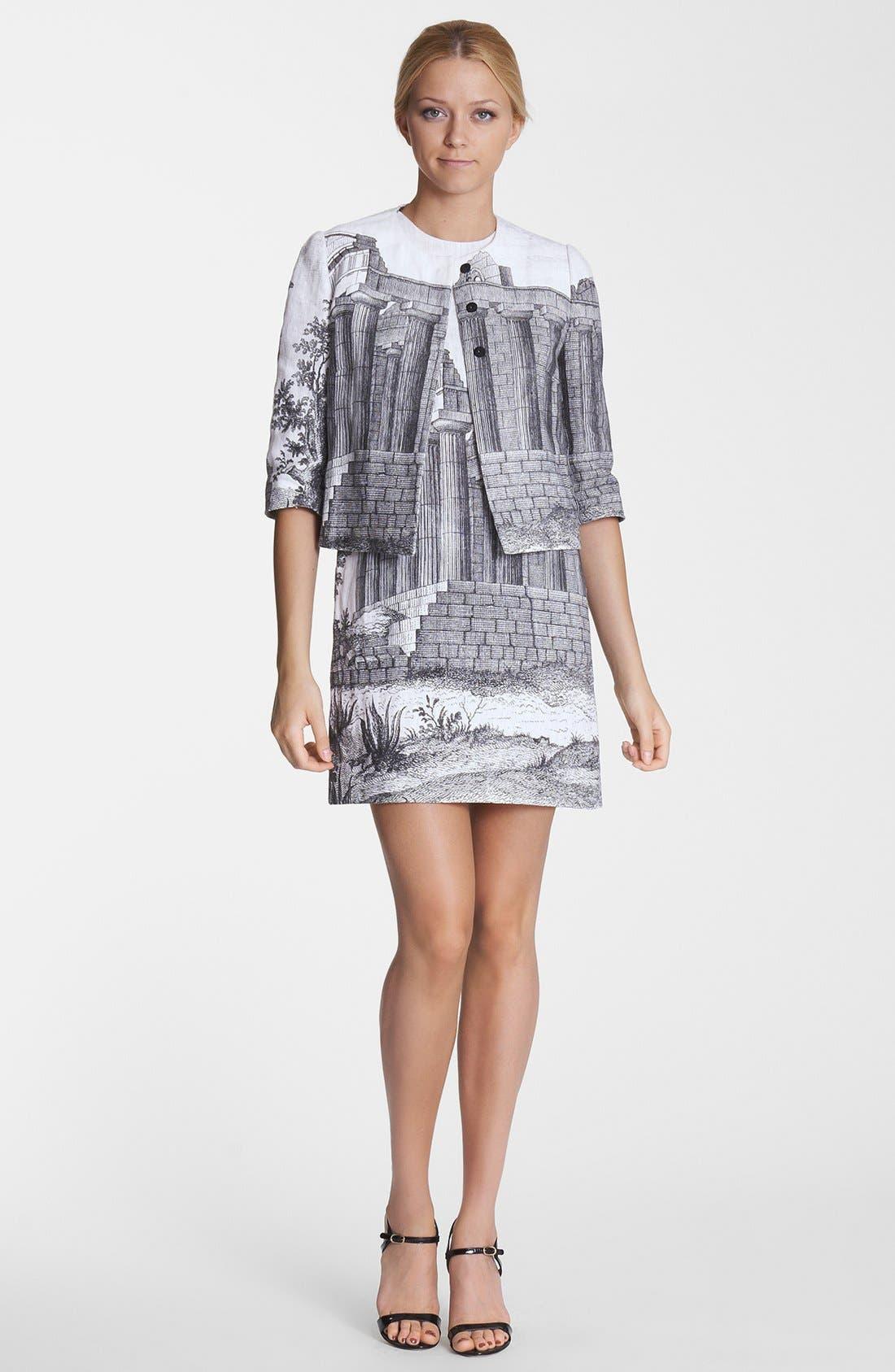 Alternate Image 1 Selected - Dolce&Gabbana Jacket & Sheath Dress