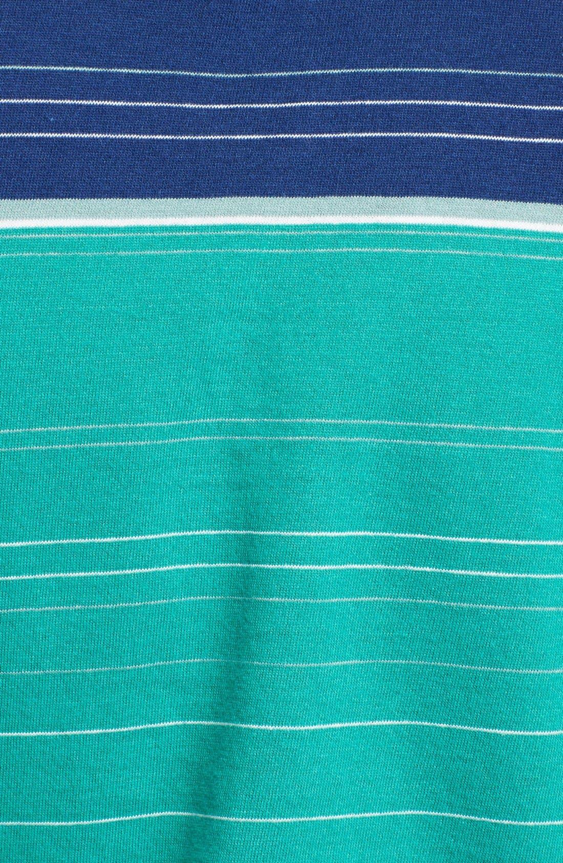 Alternate Image 3  - Billy Reid 'Pensacola' Block Stripe Jersey Polo