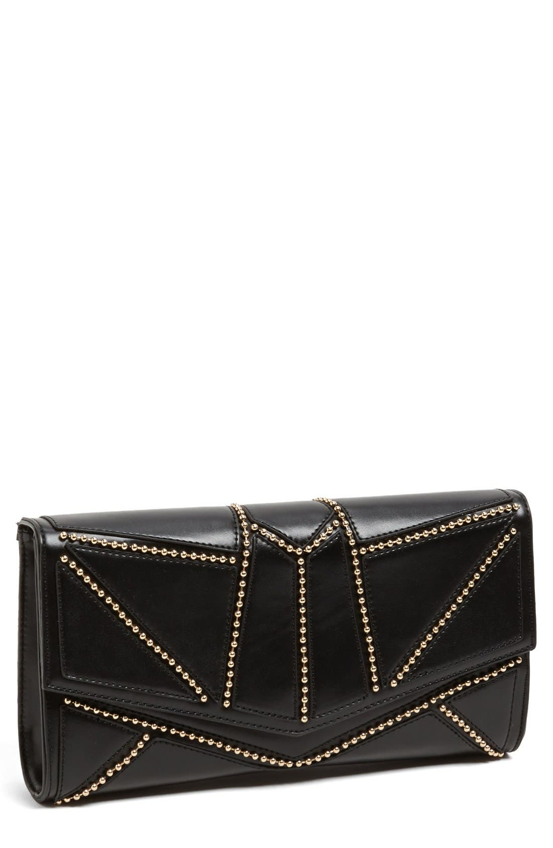 Alternate Image 1 Selected - Nila Anthony Ball Stud Clutch