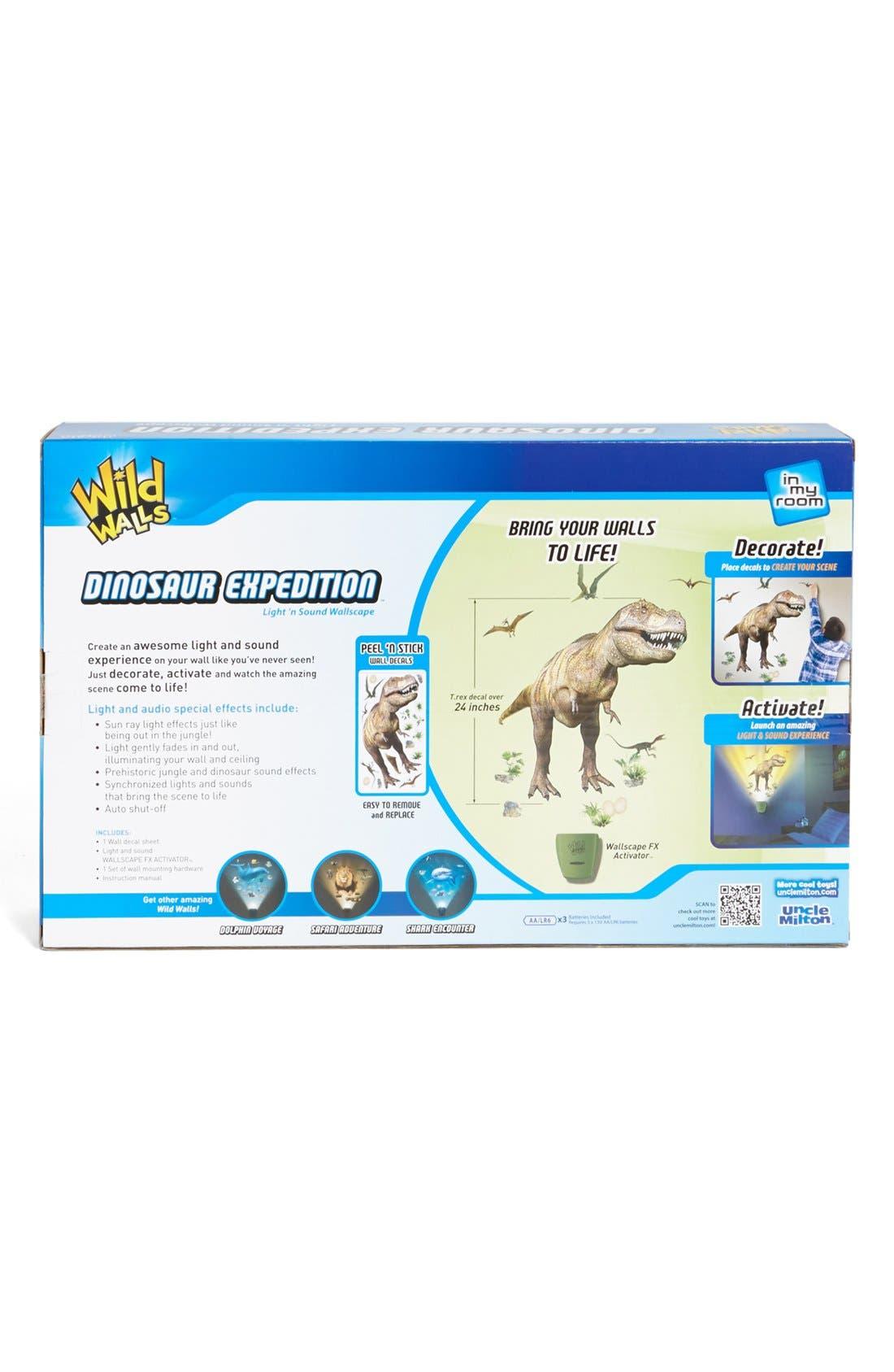 Alternate Image 2  - Uncle Milton 'Dinosaur Expedition' Light & Sound Wallscape