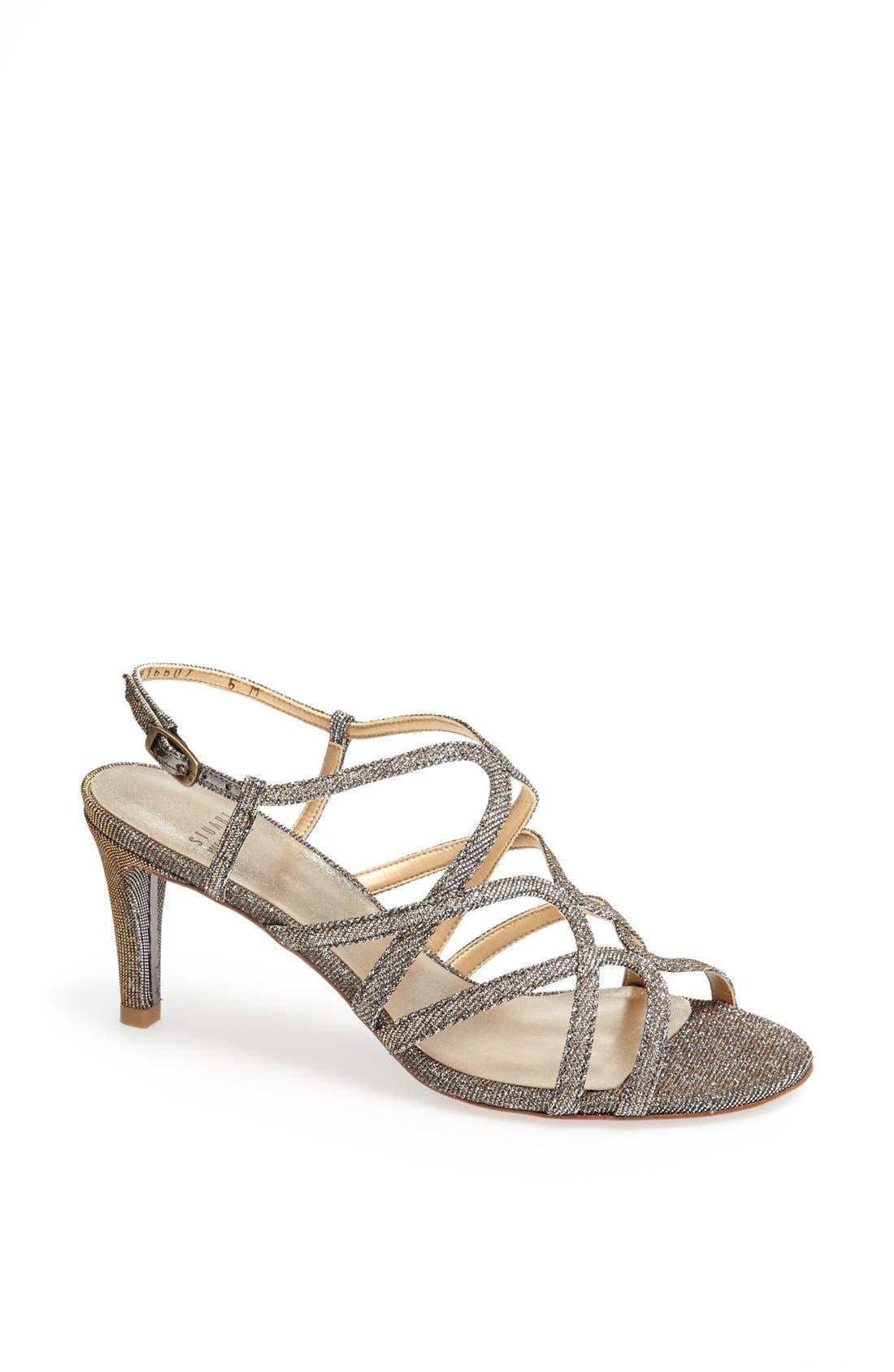 'Turningup' Sandal,                         Main,                         color, Pyrite Nocturn