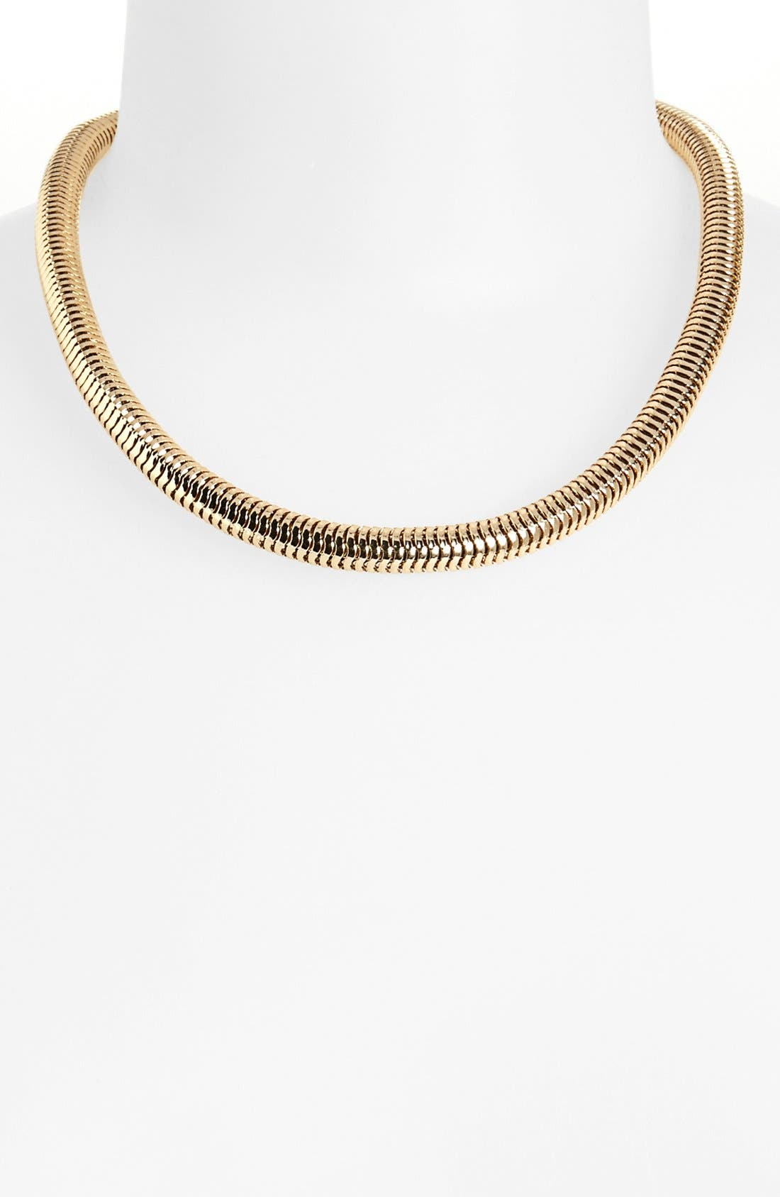 Main Image - Topshop Snake Chain Collar Necklace