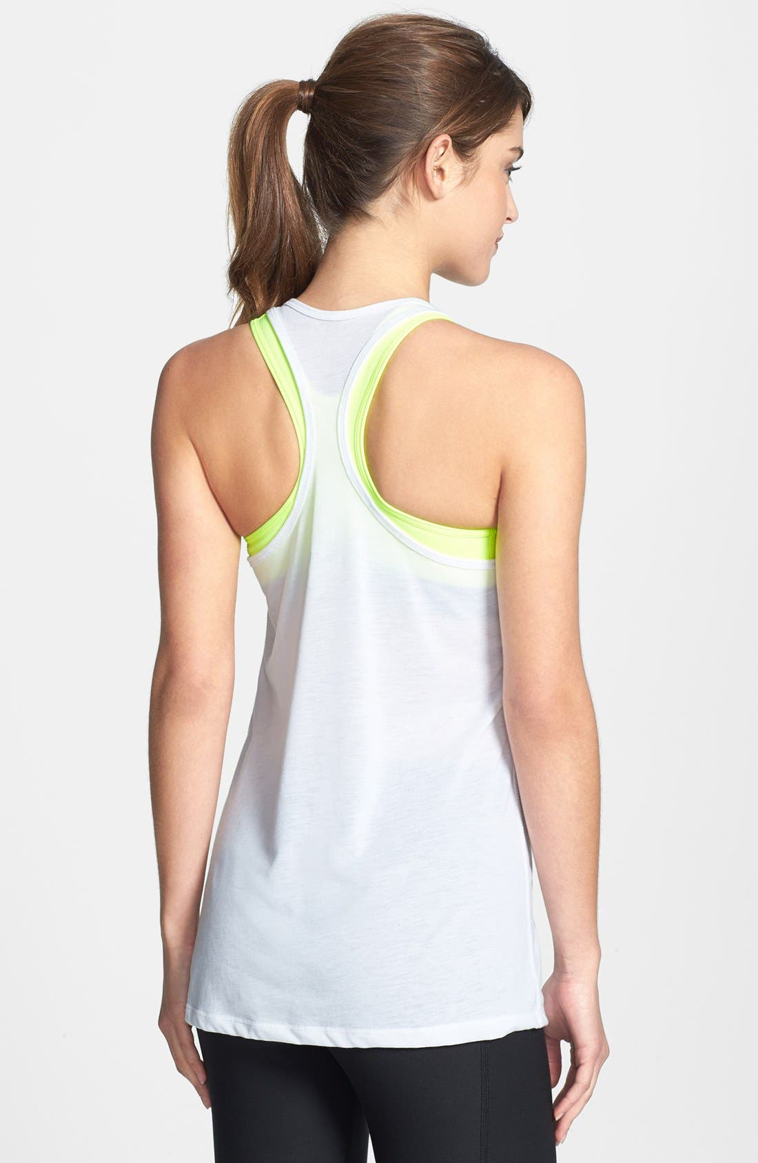 Alternate Image 2  - Nike 'Flow' Racerback Tank