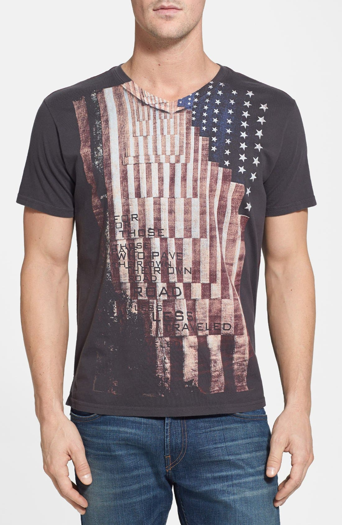 Alternate Image 1 Selected - Robert Graham 'For Those Who Pave' Tailored Fit T-Shirt