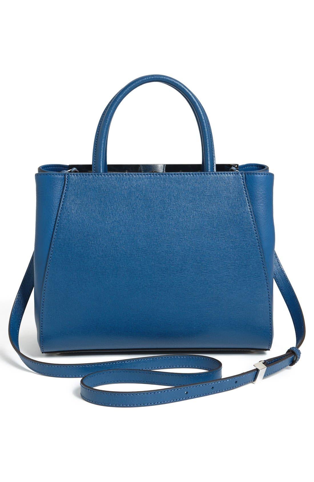 Alternate Image 3  - Fendi 'Petite 2Jours Elite' Leather Shopper
