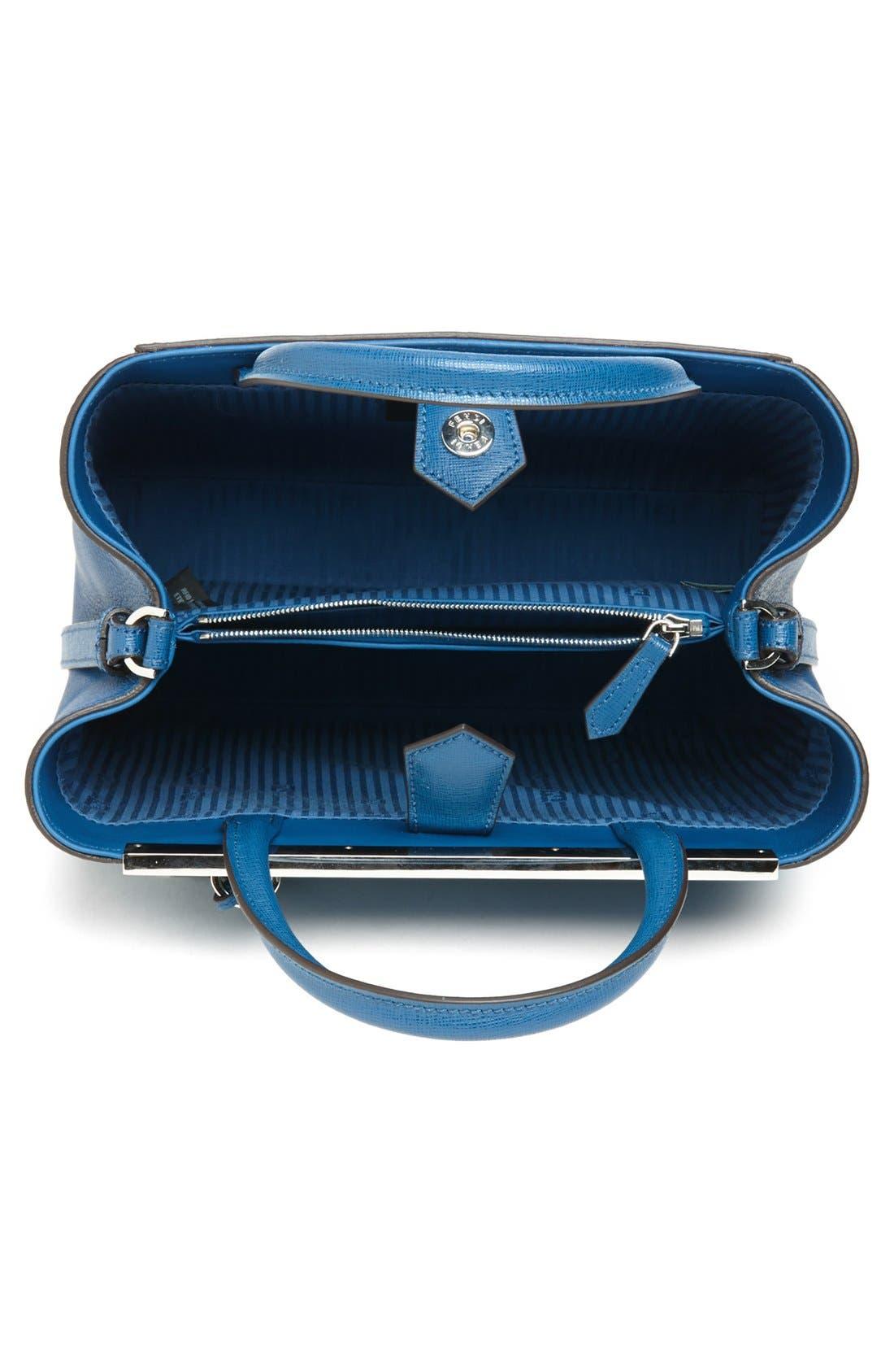Alternate Image 4  - Fendi 'Petite 2Jours Elite' Leather Shopper