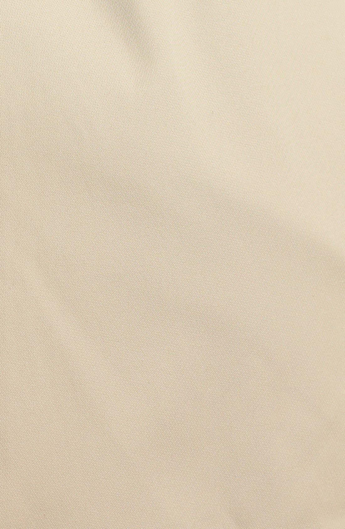 Alternate Image 3  - Ellen Tracy Belted Short Trench Coat (Plus Size) (Nordstrom Exclusive)