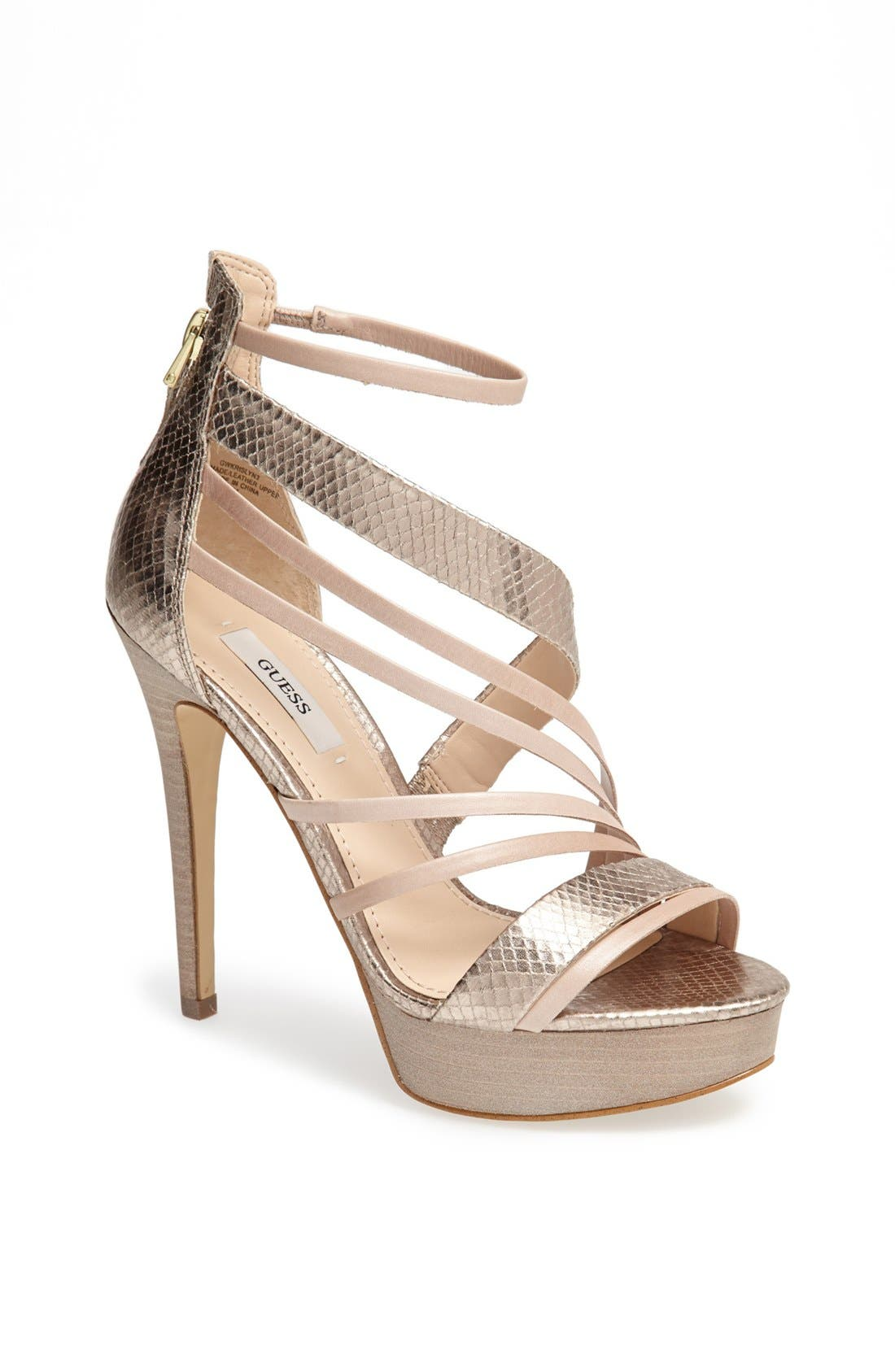 Alternate Image 1 Selected - GUESS 'Krislyn3' Sandal