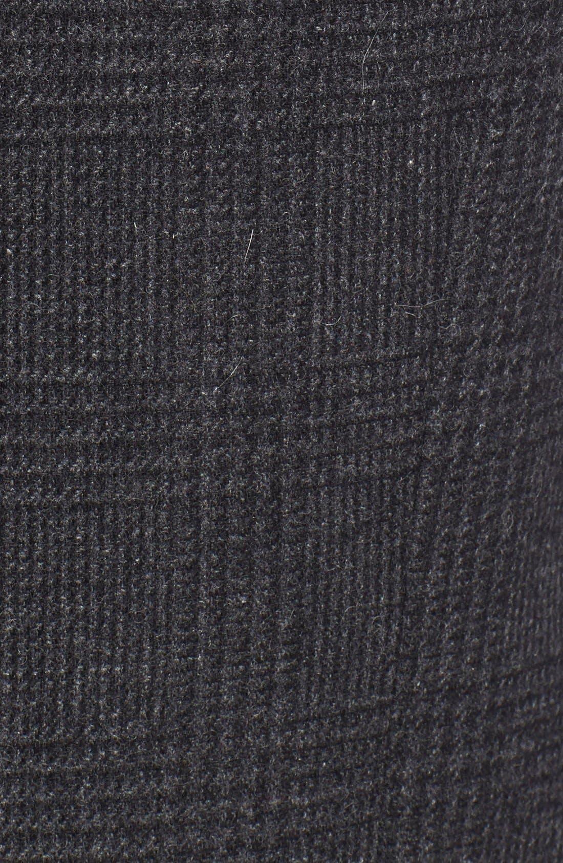 Alternate Image 3  - Topman Skinny Fit Check Wool Blend Vest