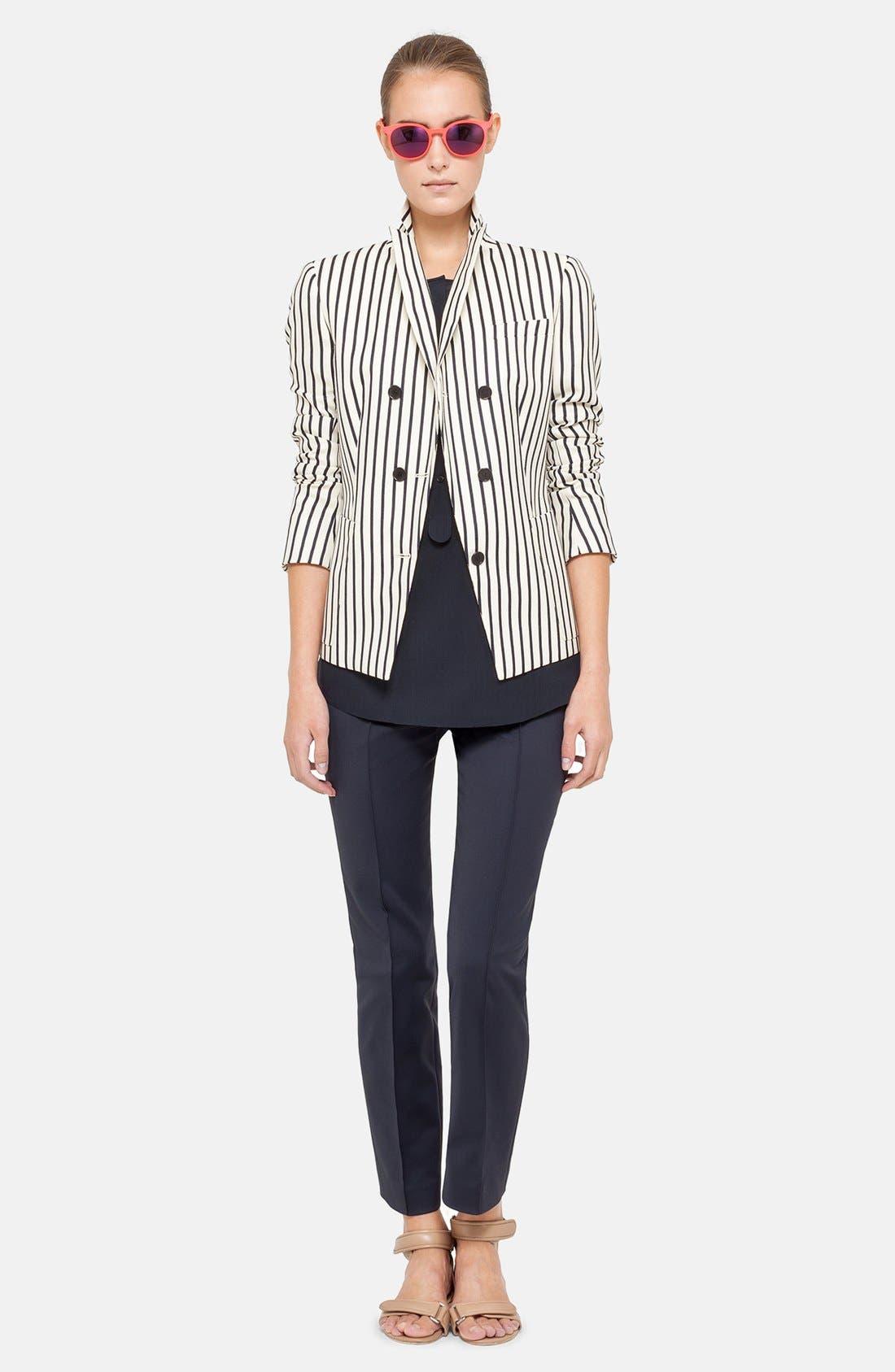Main Image - Akris punto Jacket, Blouse & Crop Pants