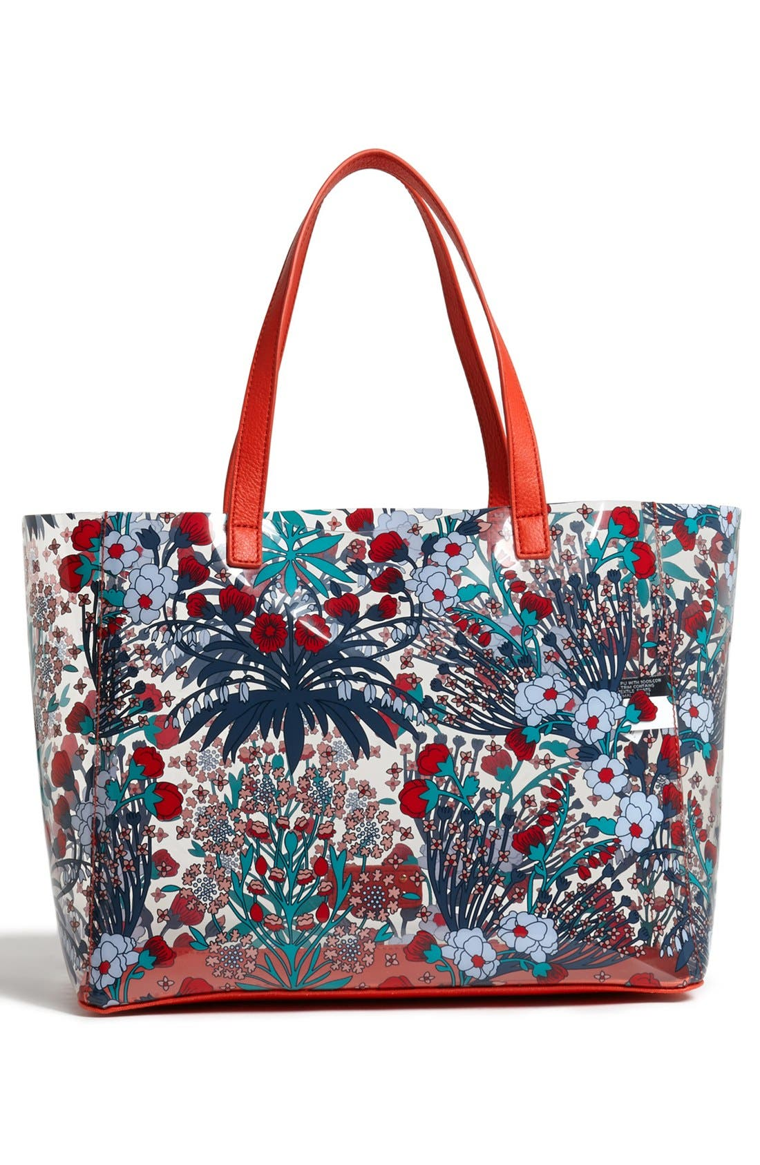 Alternate Image 4  - MARC BY MARC JACOBS Transparent Floral Print Tote