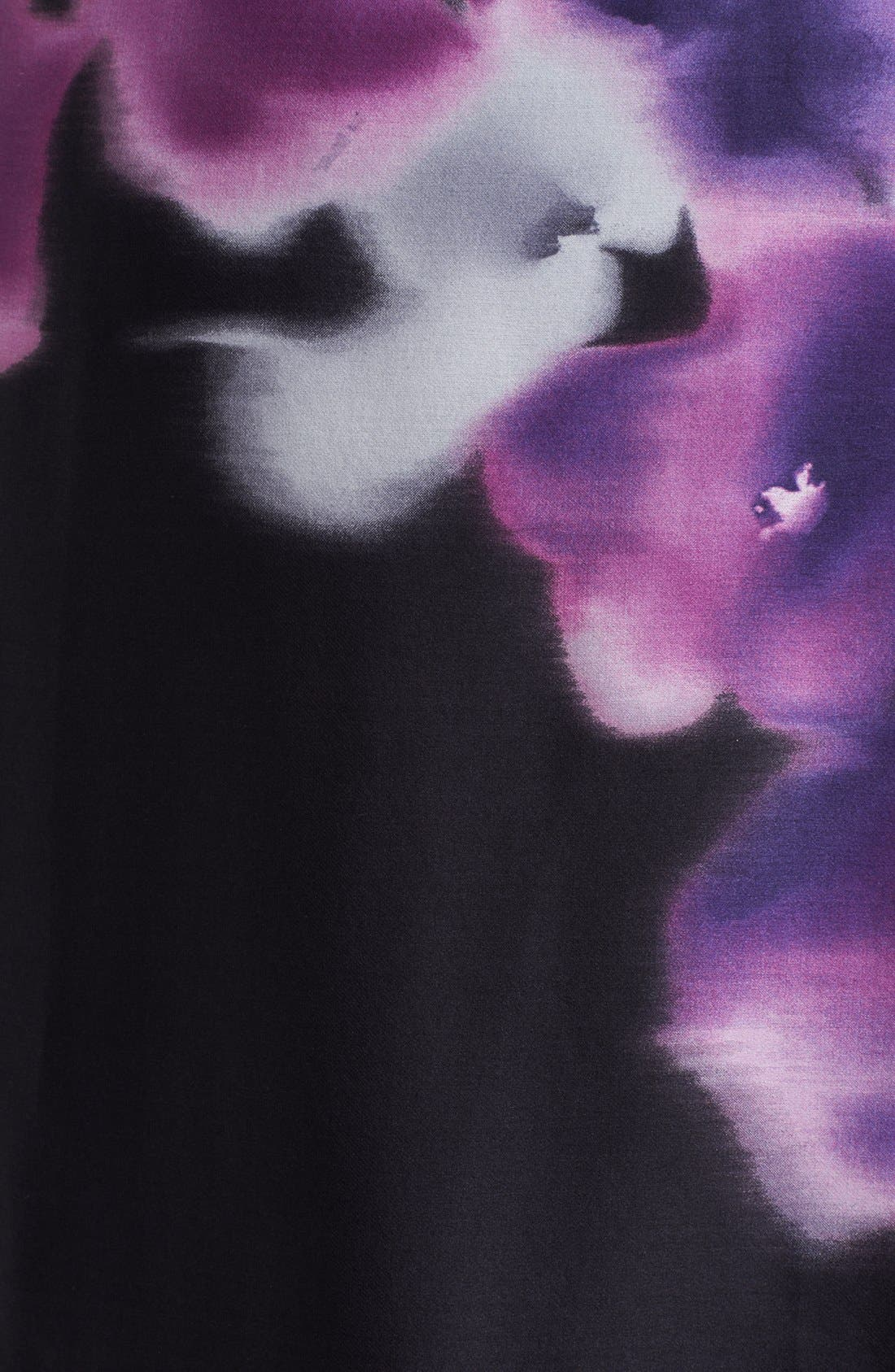 Alternate Image 3  - Armani Collezioni Print Side Drape Silk Dress