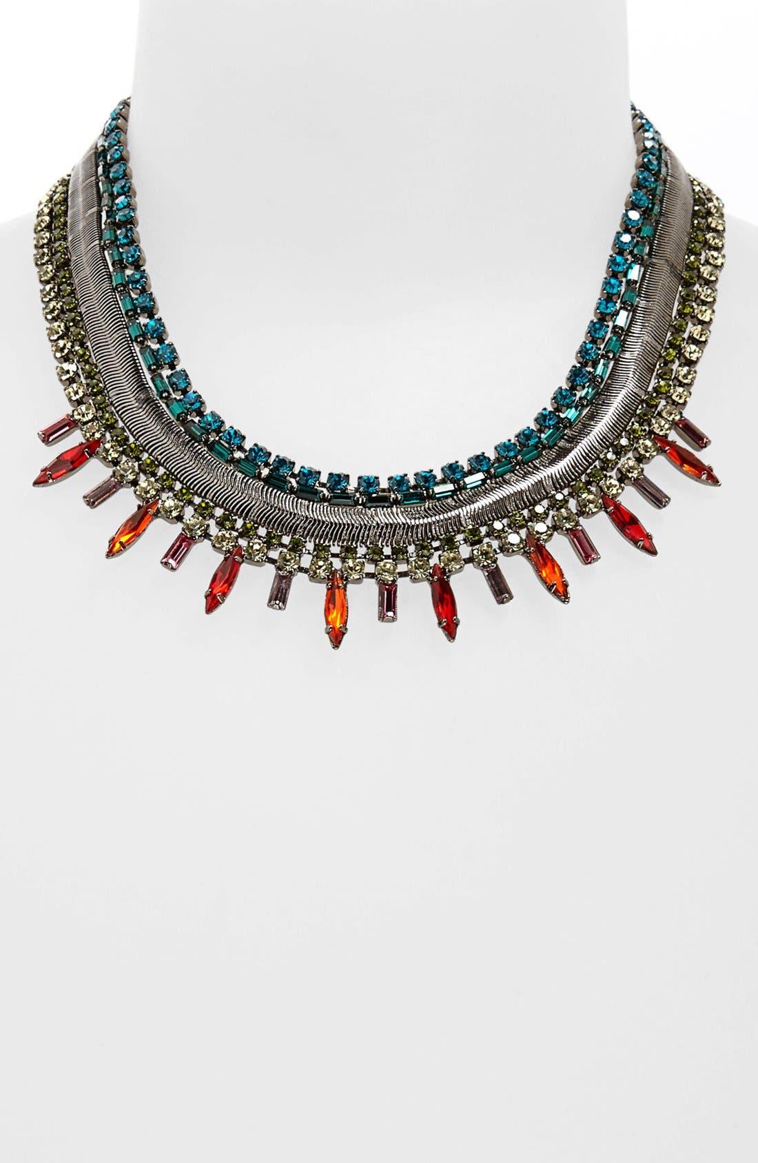 Alternate Image 1 Selected - DANNIJO 'Keira' Multi Strand Necklace