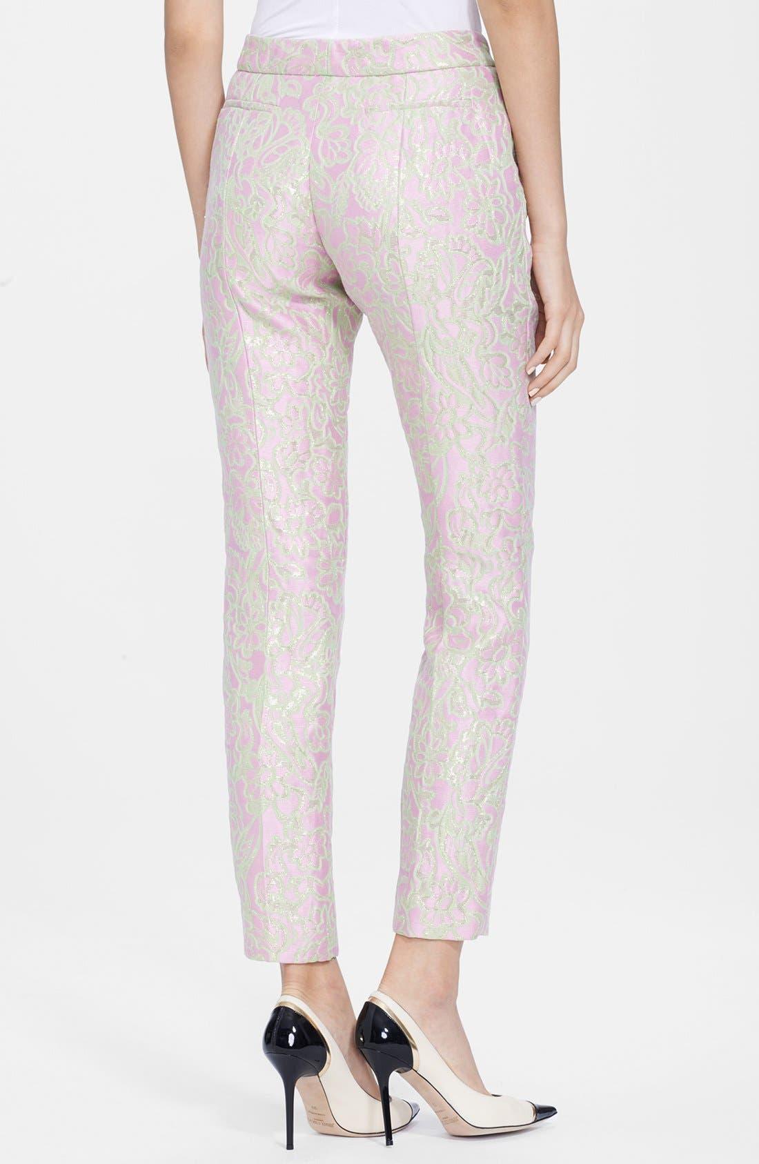 Alternate Image 2  - Nina Ricci Jacquard Pants
