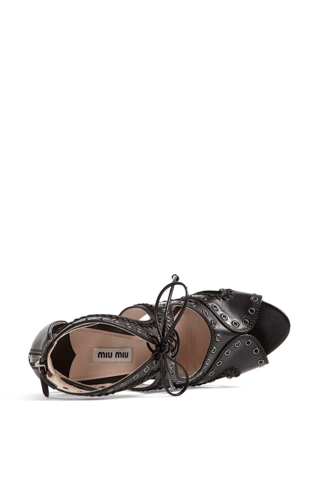 Alternate Image 3  - Miu Miu Caged Cutout Sandal