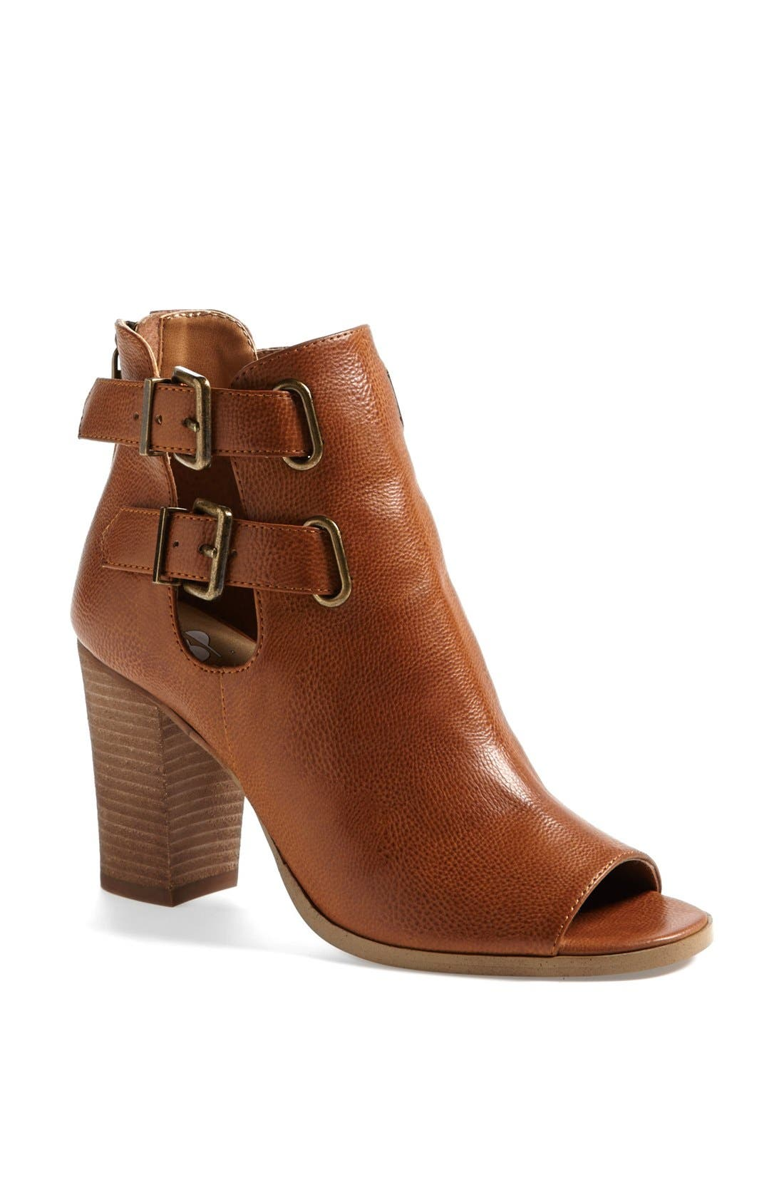 'Flexi' Bootie,                             Main thumbnail 1, color,                             Cognac